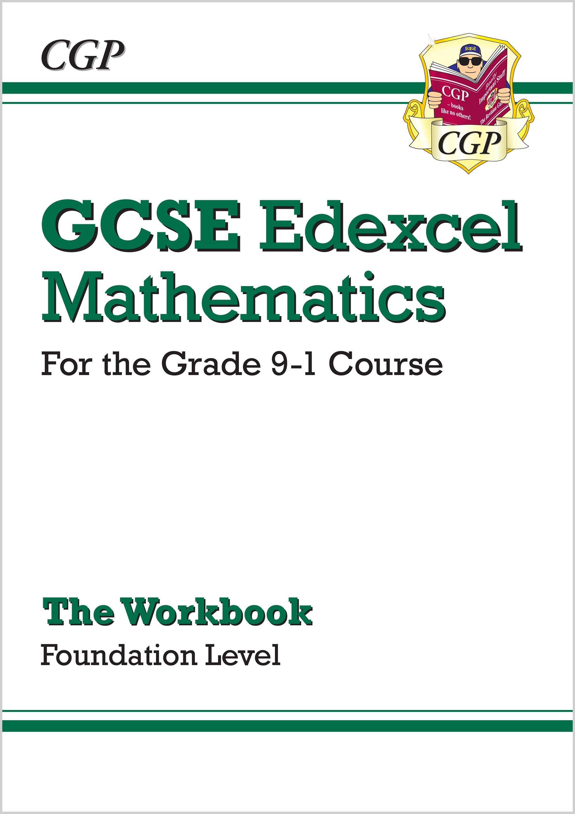 MXFW46 - GCSE Maths Edexcel Workbook: Foundation - for the Grade 9-1 Course