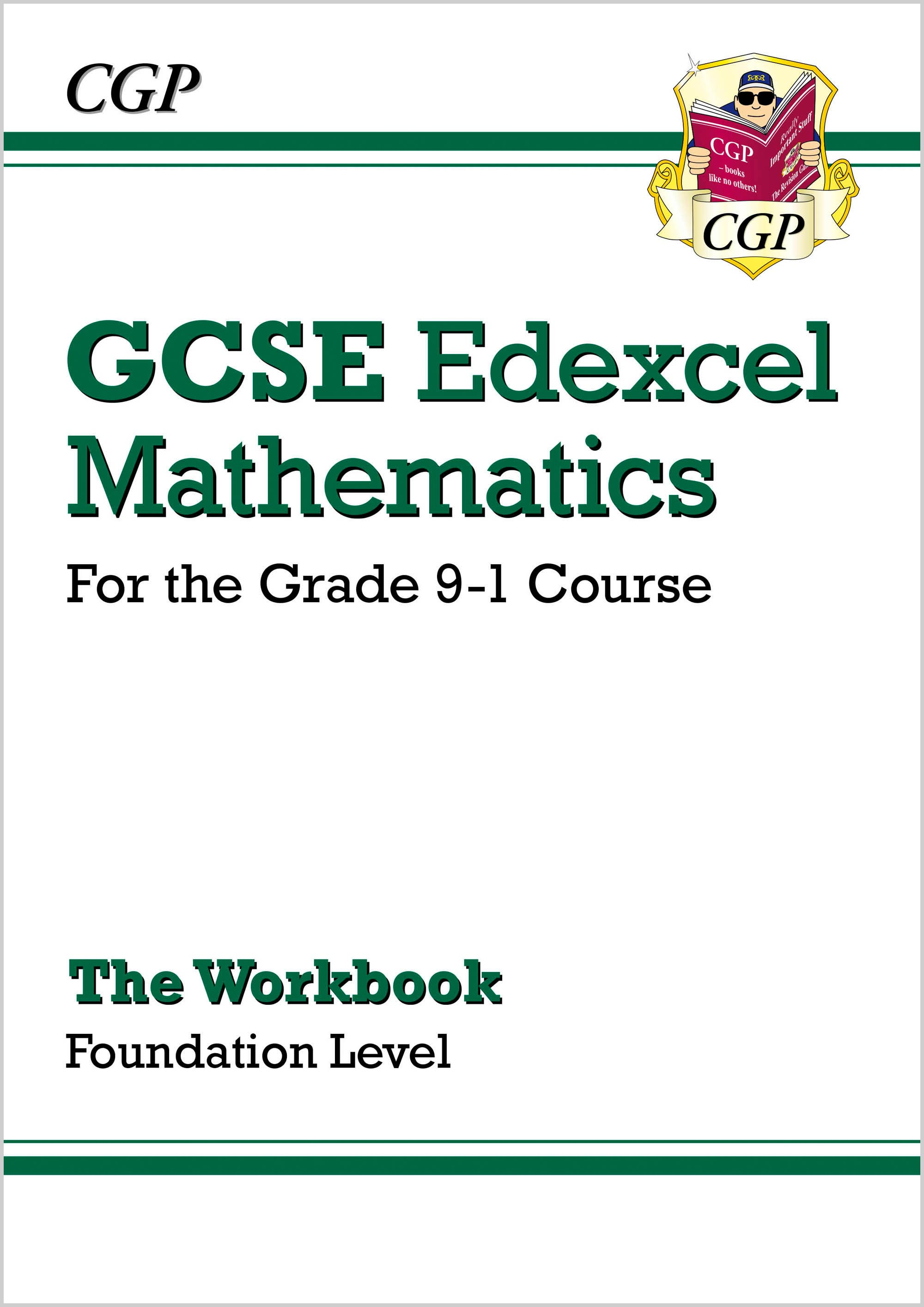 MXFW46DK - New GCSE Maths Edexcel Workbook: Foundation - for the Grade 9-1 Course