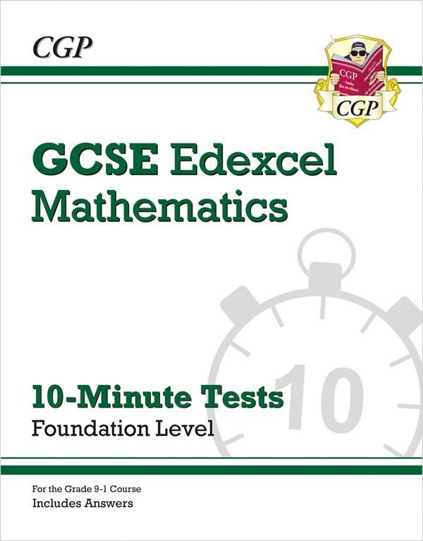 New Grade 9-1 GCSE Maths Edexcel 10-Minute Tests