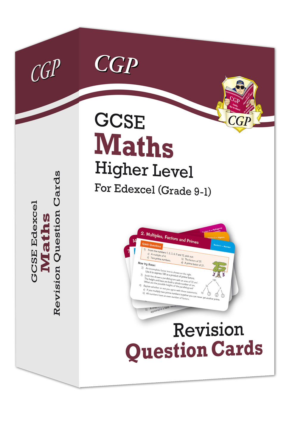 MXHF41 - New Grade 9-1 GCSE Maths Edexcel Revision Question Cards - Higher