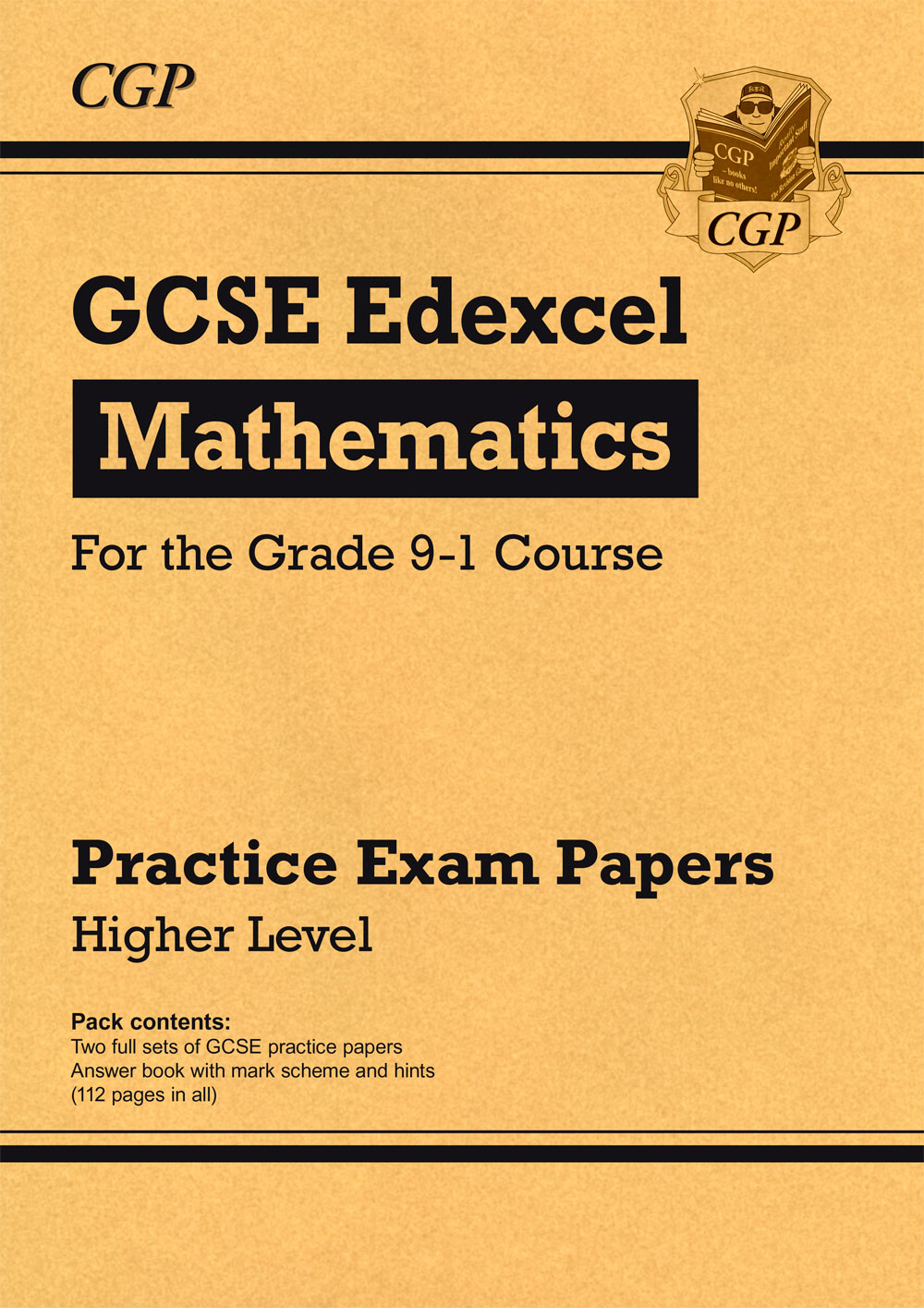 MXHP43 - New GCSE Maths Edexcel Practice Papers: Higher - for the Grade 9-1 Course