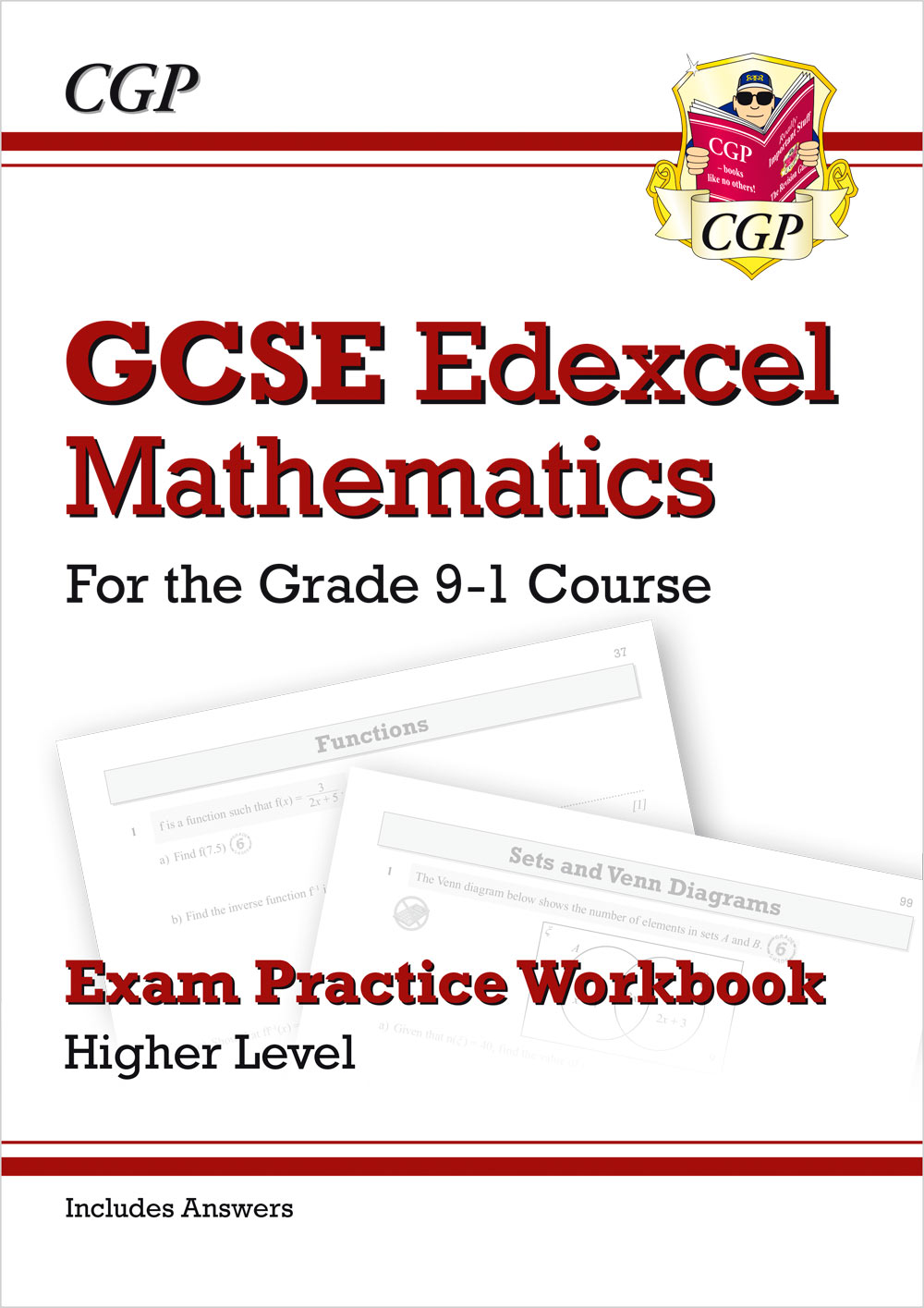MXHQ42 - GCSE Maths Edexcel Exam Practice Workbook: Higher - for the Grade 9-1 Course (includes Answ