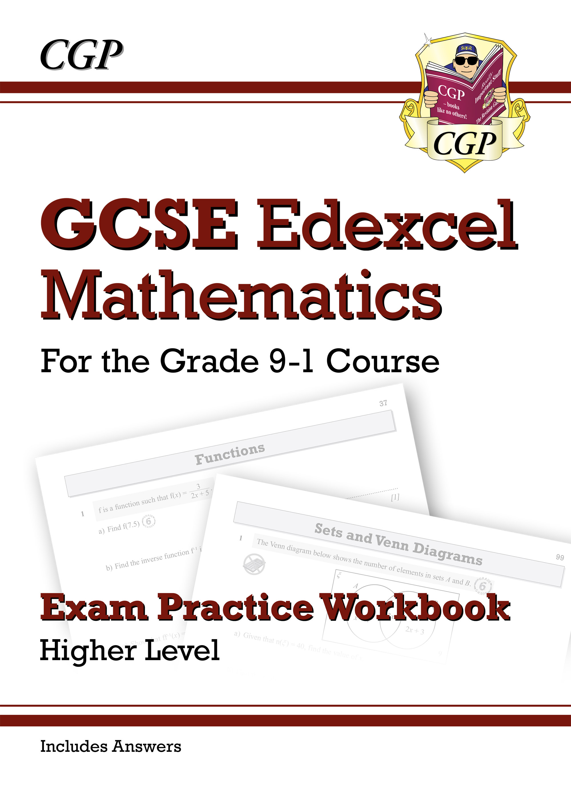MXHQ42DK - GCSE Maths Edexcel Exam Practice Workbook: Higher - for the Grade 9-1 Course (includes An