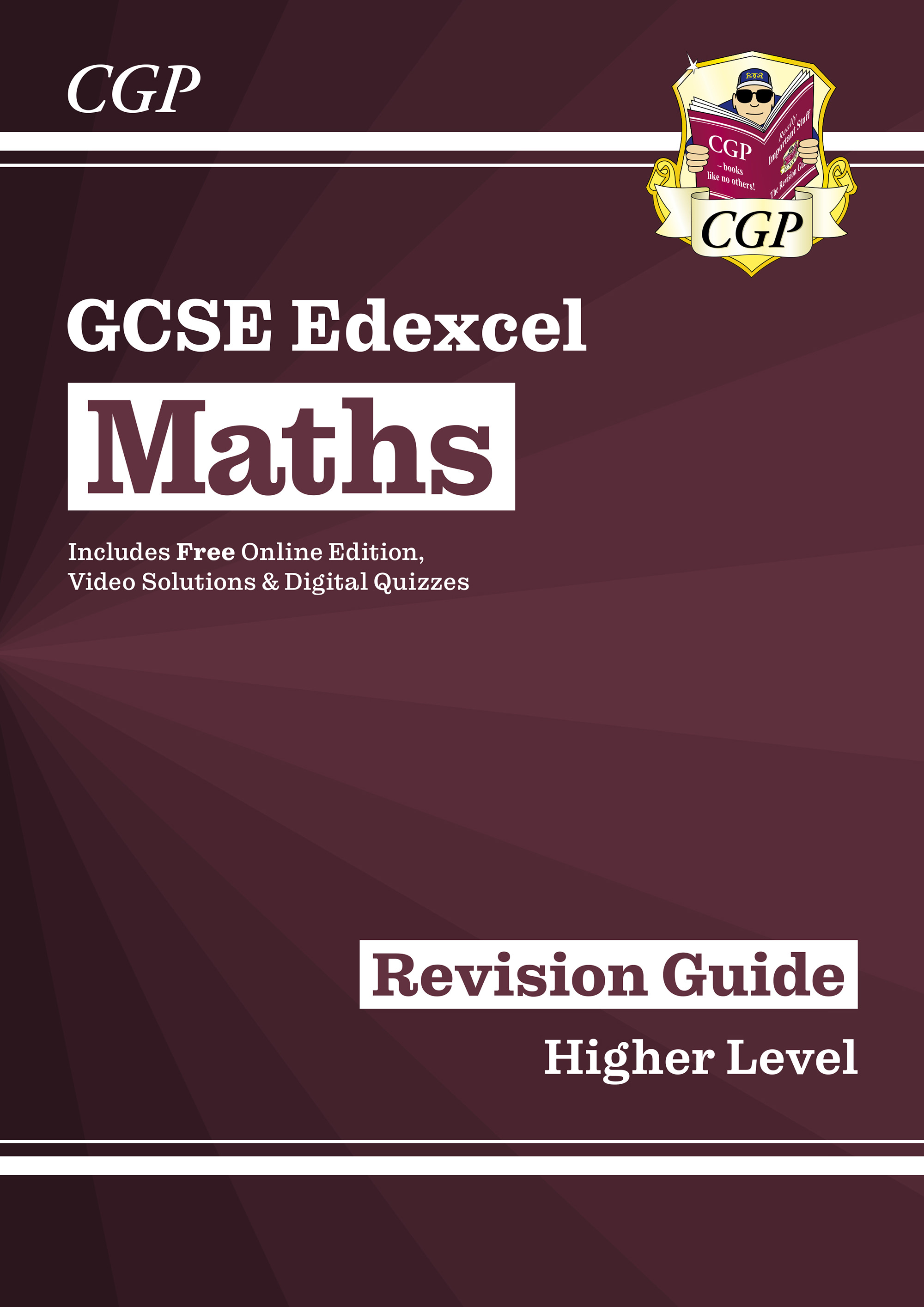 MXHR47D - New 2021 GCSE Maths Edexcel Revision Guide: Higher Online Edition inc Videos & Quizzes
