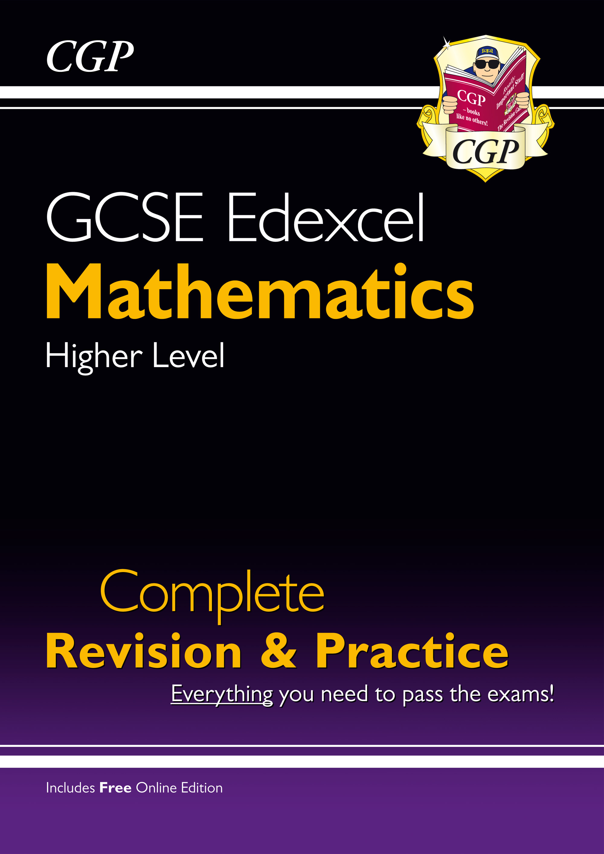 MXHS43 - GCSE Maths Edexcel Complete Revision & Practice: Higher - Grade 9-1 Course (with Online Edi