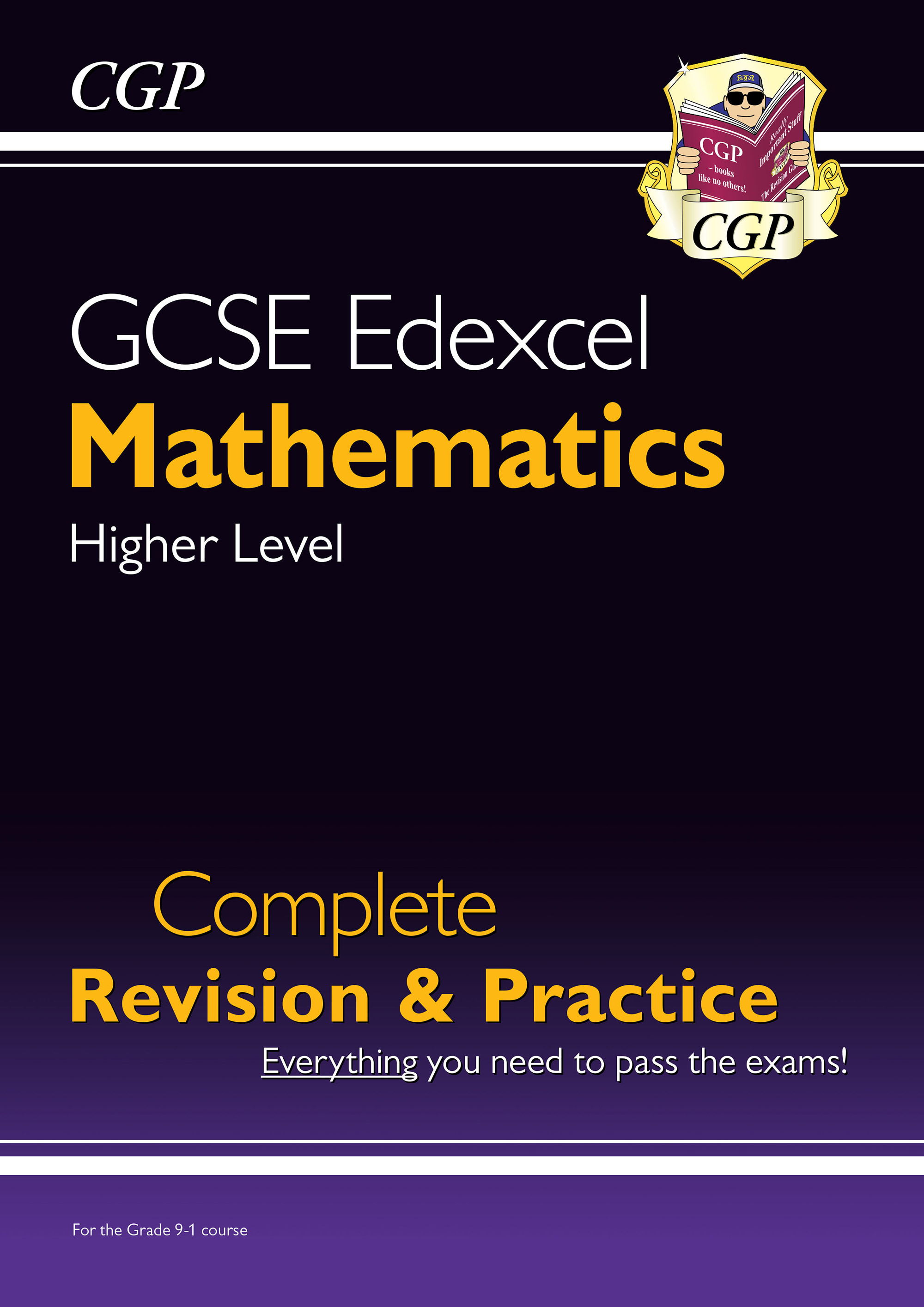 MXHS43DK - GCSE Maths Edexcel Complete Revision & Practice: Higher - for the Grade 9-1 Course