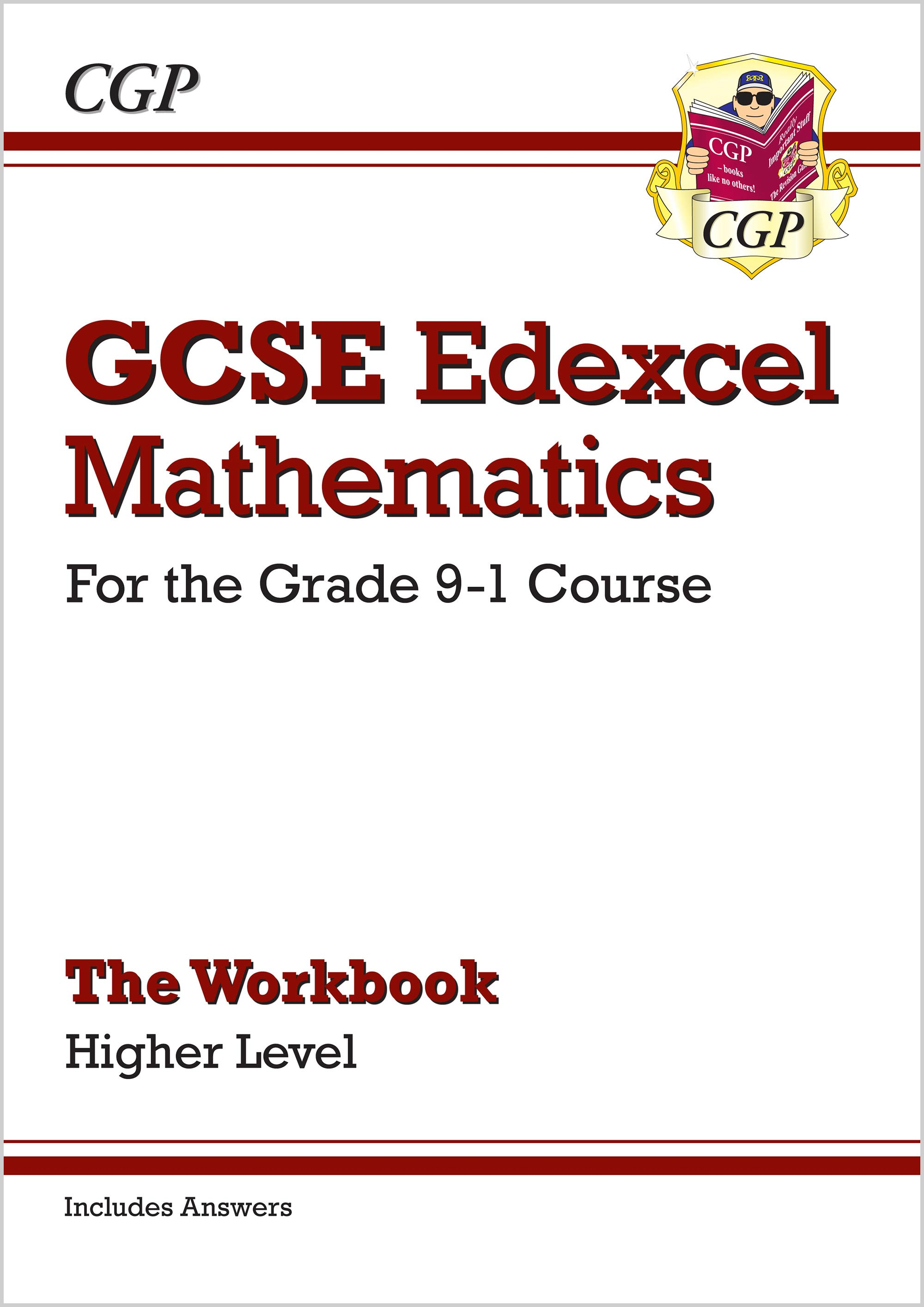 MXHW46B - GCSE Maths Edexcel Workbook: Higher - for the Grade 9-1 Course (includes Answers)