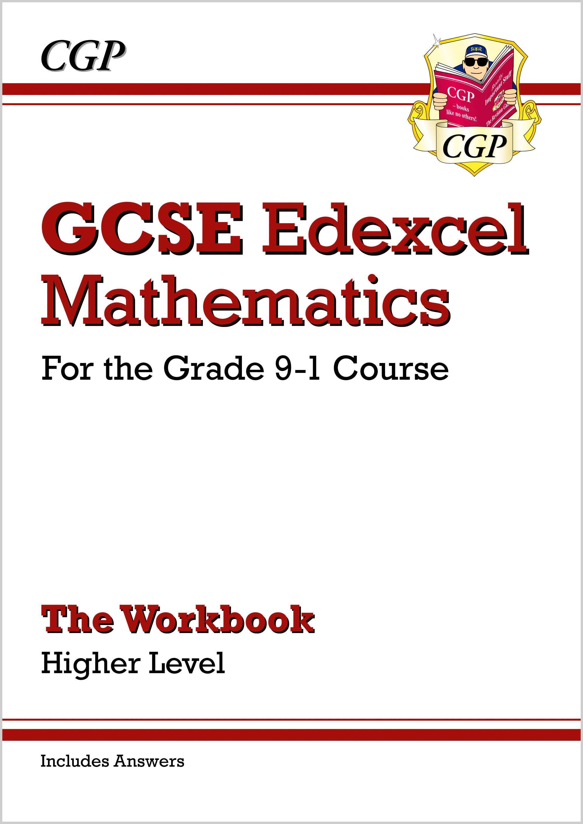 MXHW46BDK - GCSE Maths Edexcel Workbook: Higher - for the Grade 9-1 Course (includes Answers)
