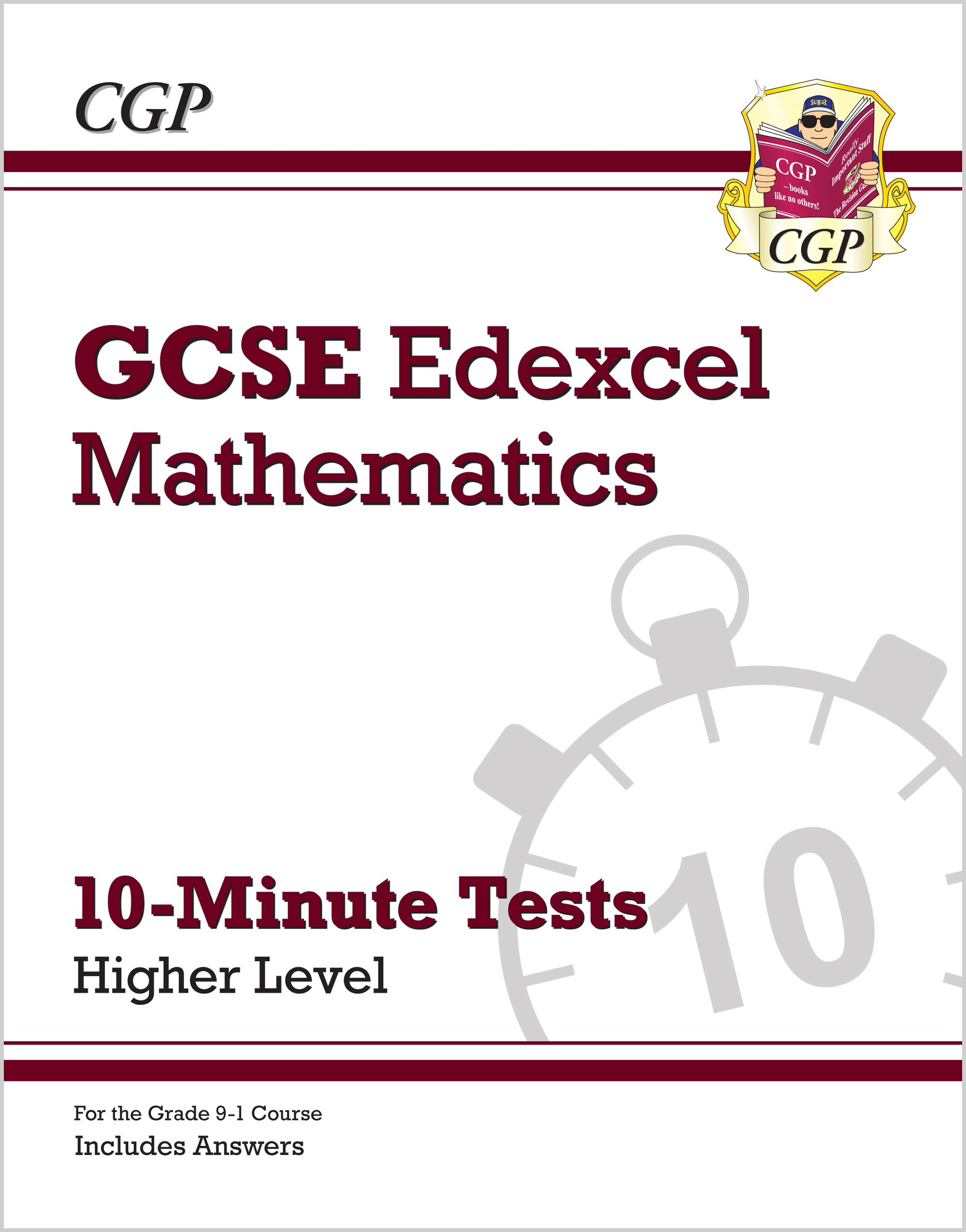 MEHXP41 - New Grade 9-1 GCSE Maths Edexcel 10-Minute Tests - Higher (includes Answers)