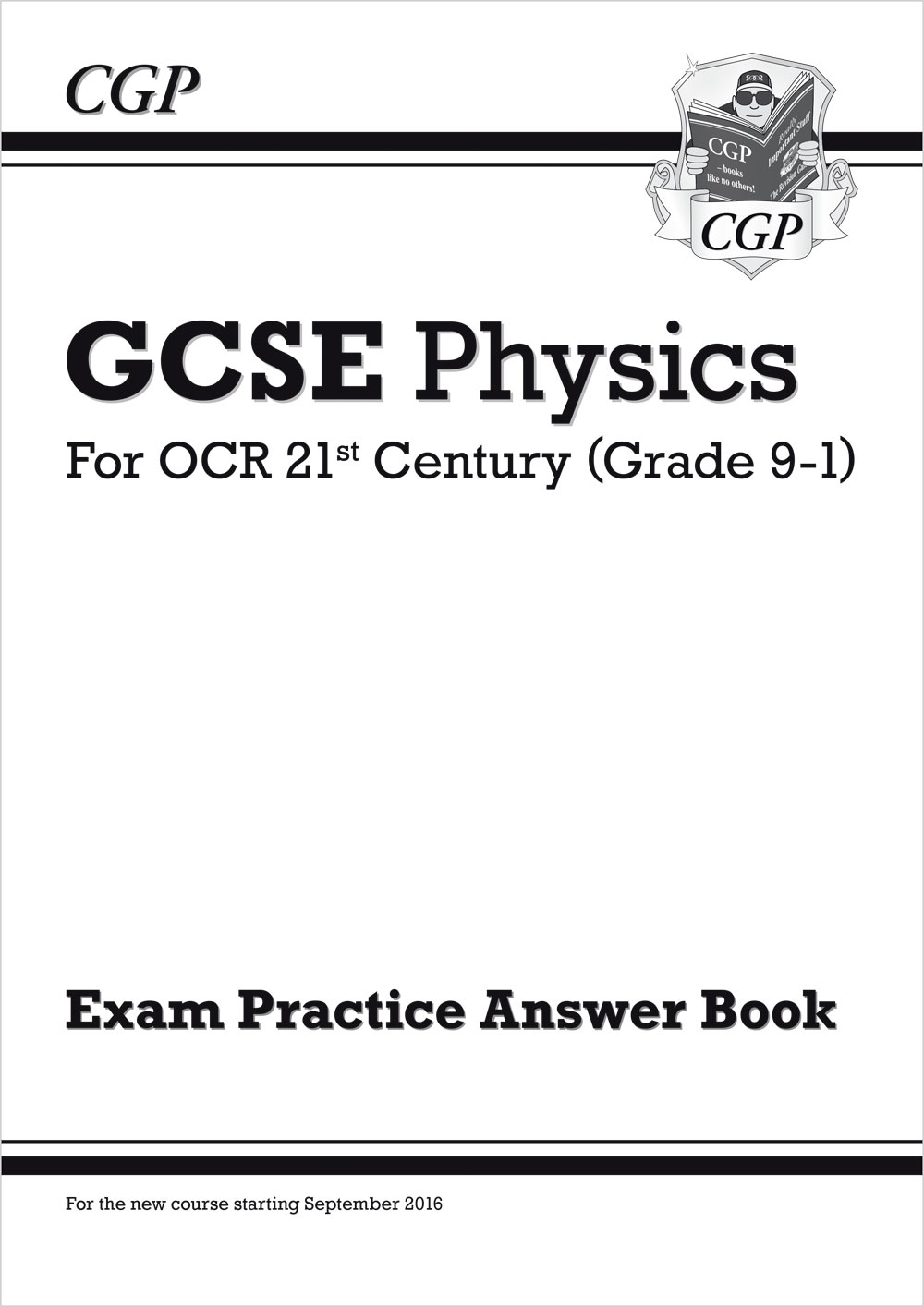 P2QA41 - New GCSE Physics: OCR 21st Century Answers (for Exam Practice Workbook)