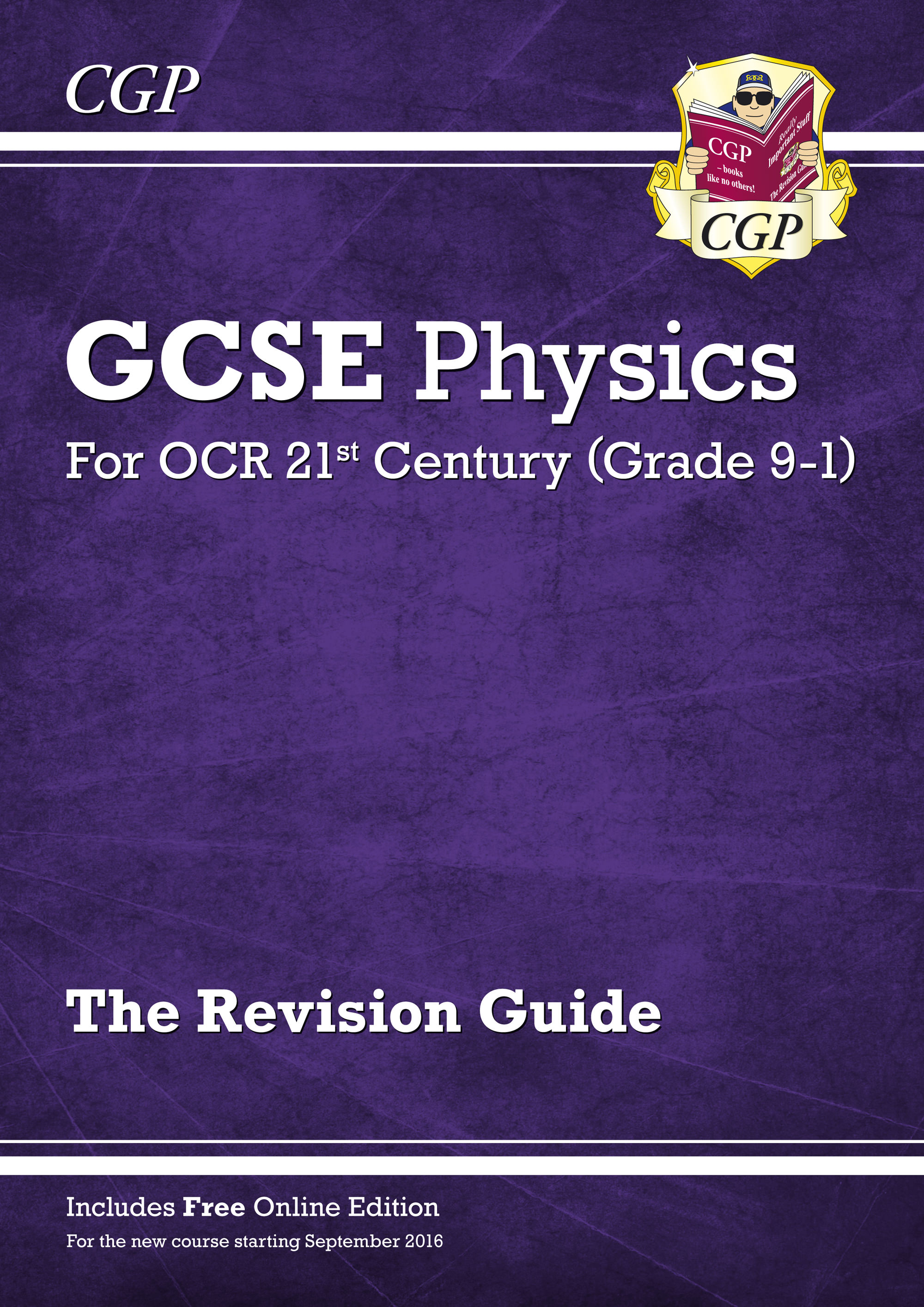 P2R45 - Grade 9-1 GCSE Physics: OCR 21st Century Revision Guide with Online Edition