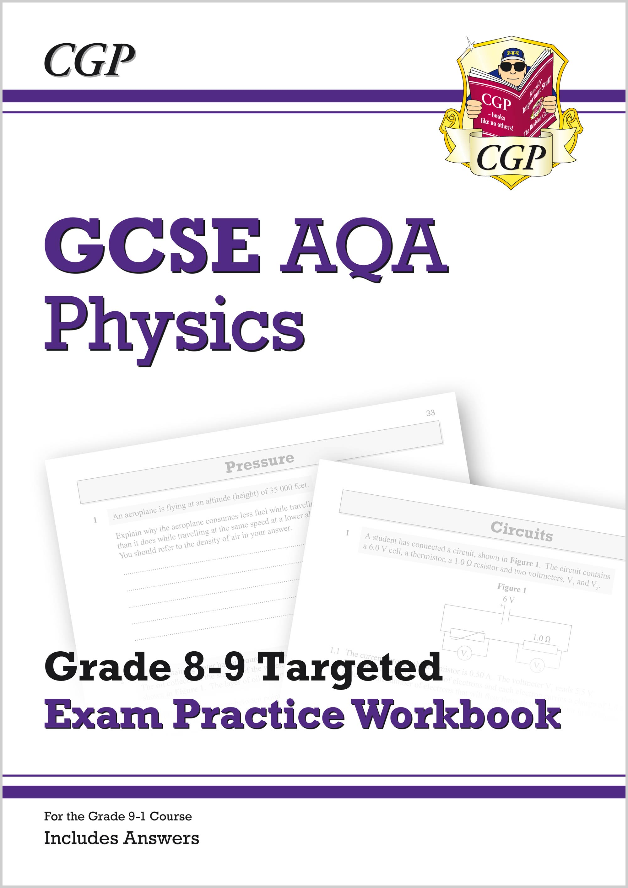 PA9Q41 - New GCSE Physics AQA Grade 8-9 Targeted Exam Practice Workbook (includes Answers)