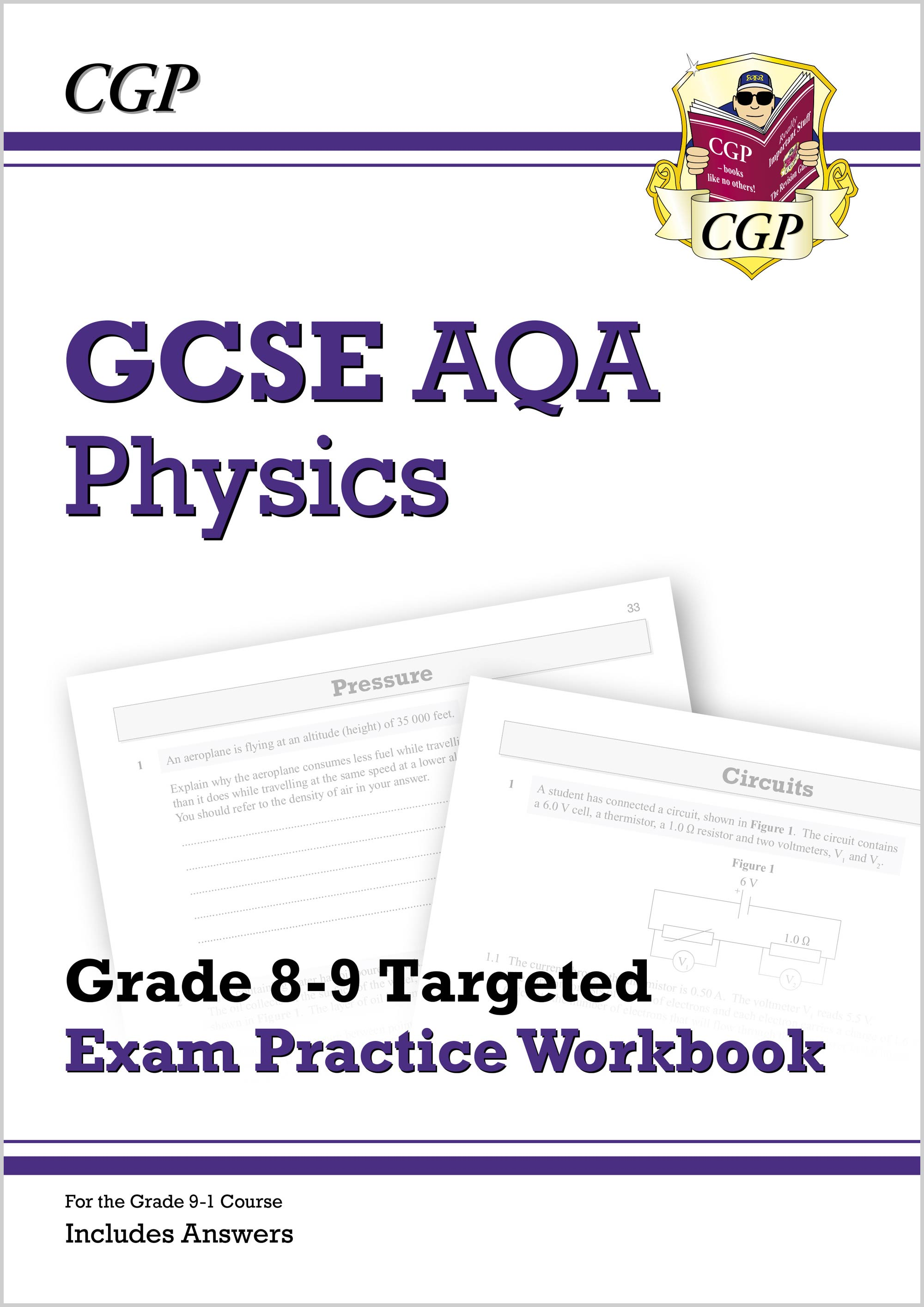 PA9Q41DK - New GCSE Physics AQA Grade 8-9 Targeted Exam Practice Workbook (includes Answers)