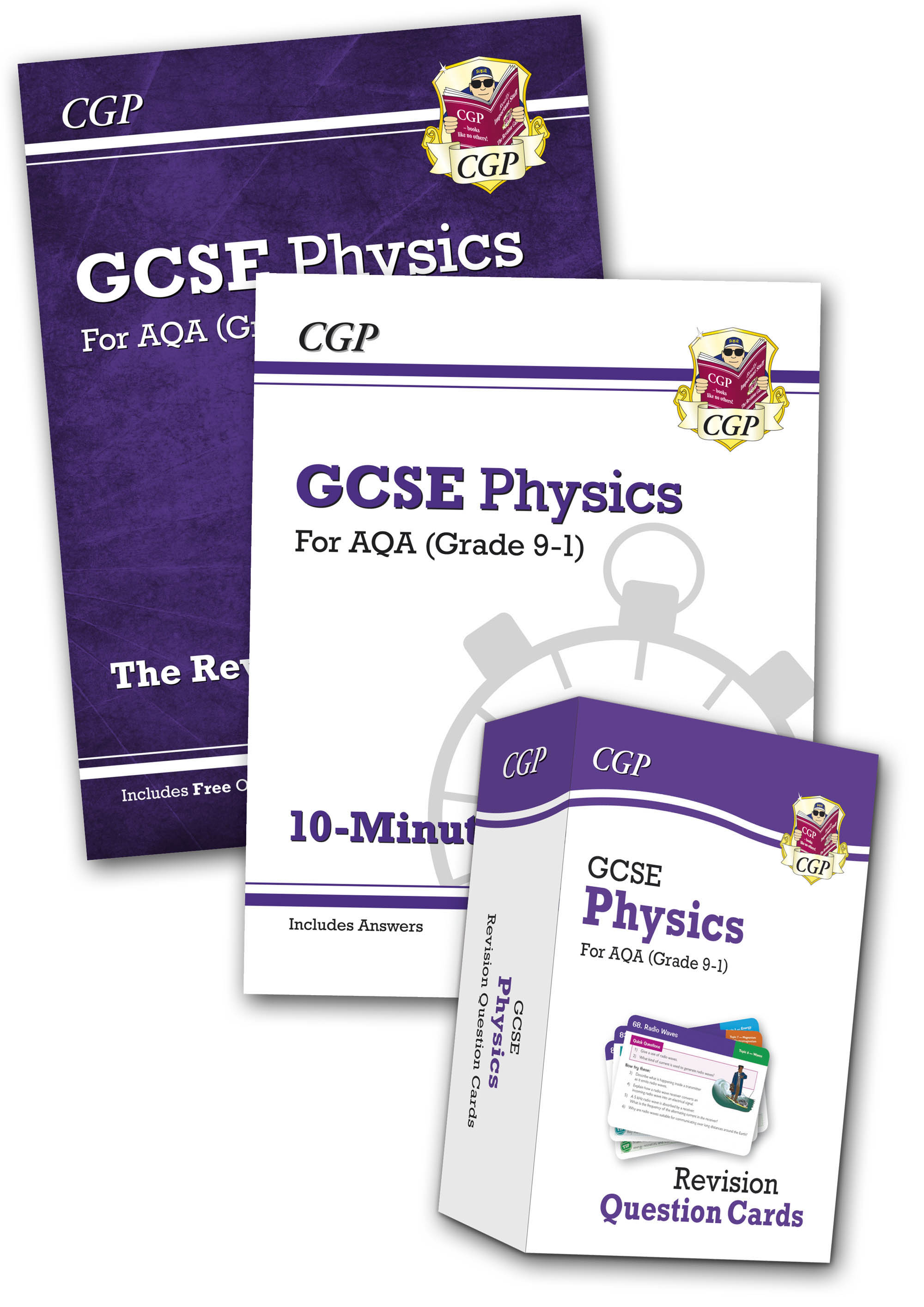 PABB41 - Grade 9-1 GCSE Physics AQA Money-Saving Bundle