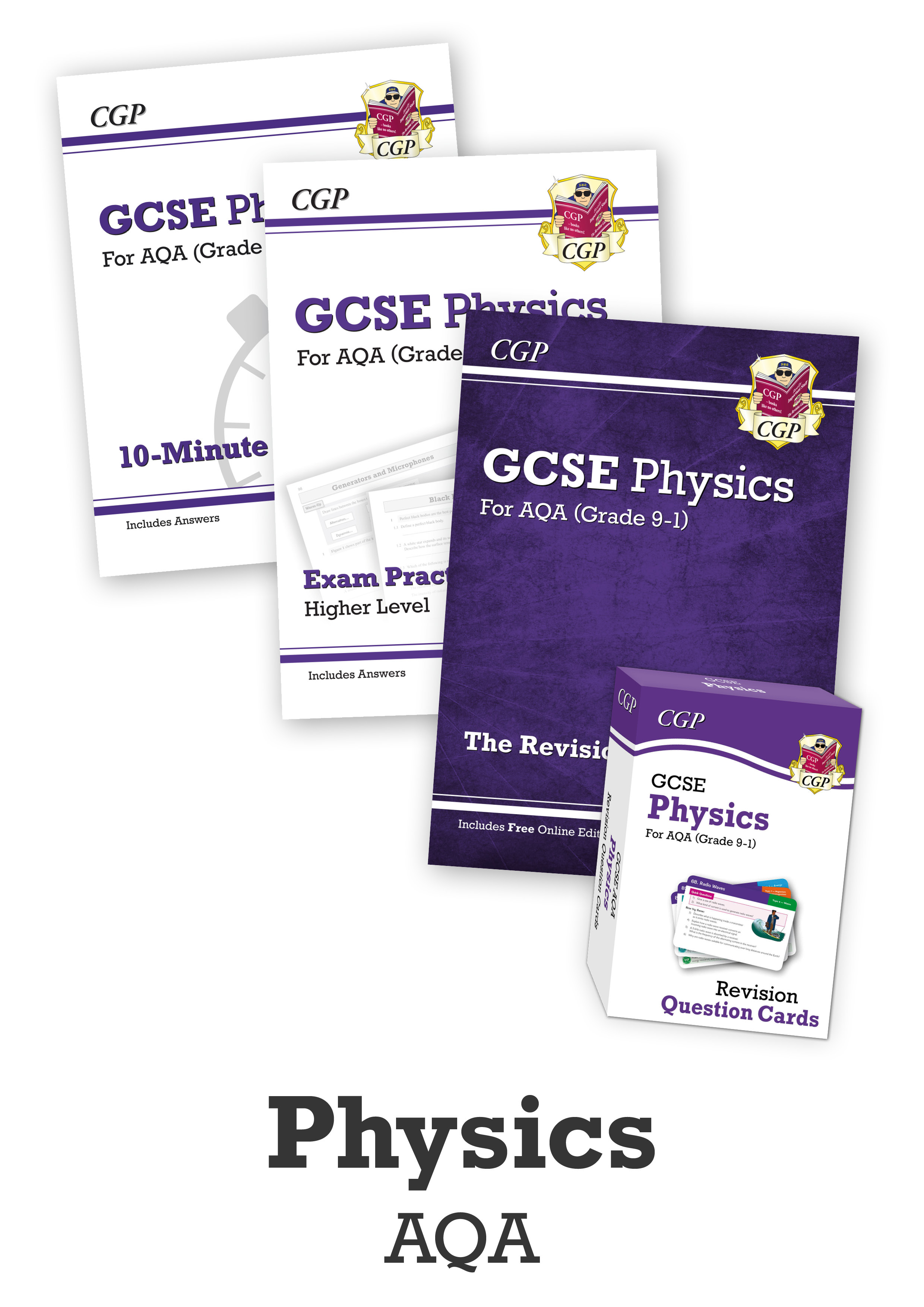 PACUB41 - GCSE Essentials Bundle: AQA Physics