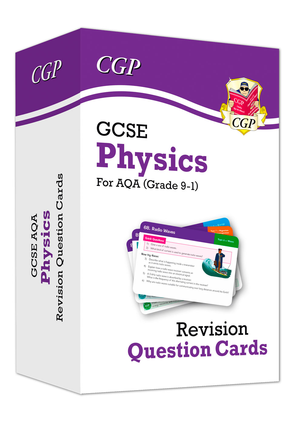 PAF41 - New 9-1 GCSE Physics AQA Revision Question Cards