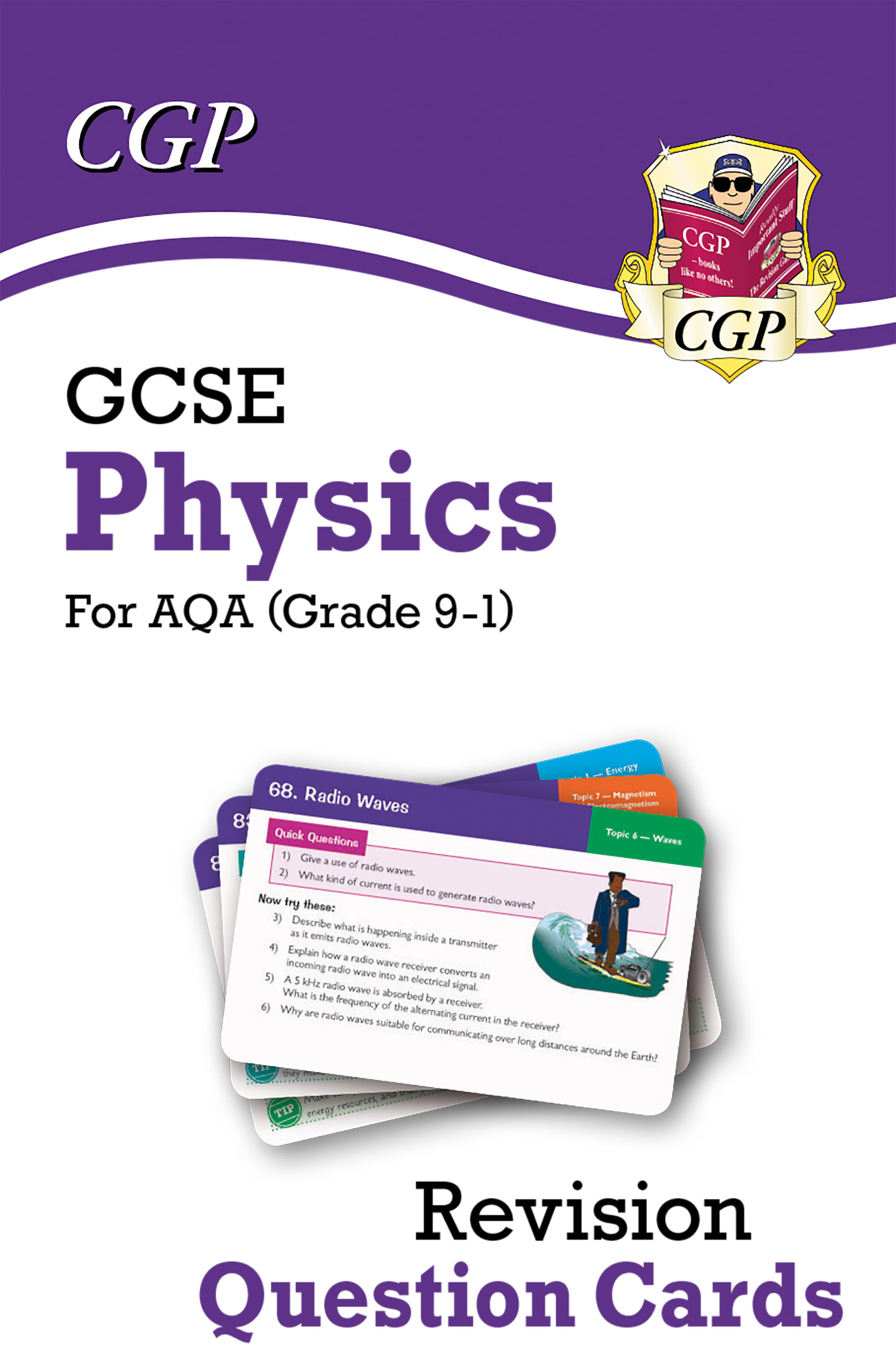 PAF41DK - New 9-1 GCSE Physics AQA Revision Question Cards