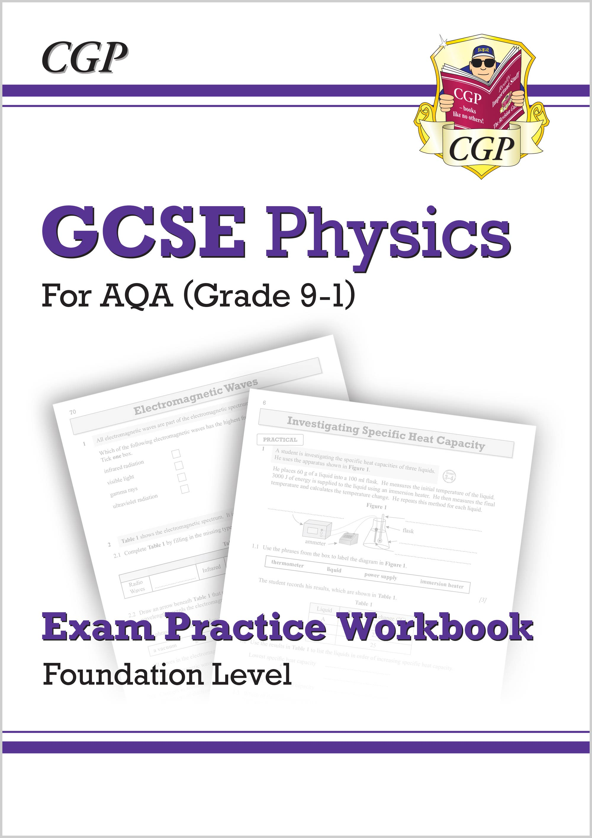 PAFQ41 - Grade 9-1 GCSE Physics: AQA Exam Practice Workbook - Foundation