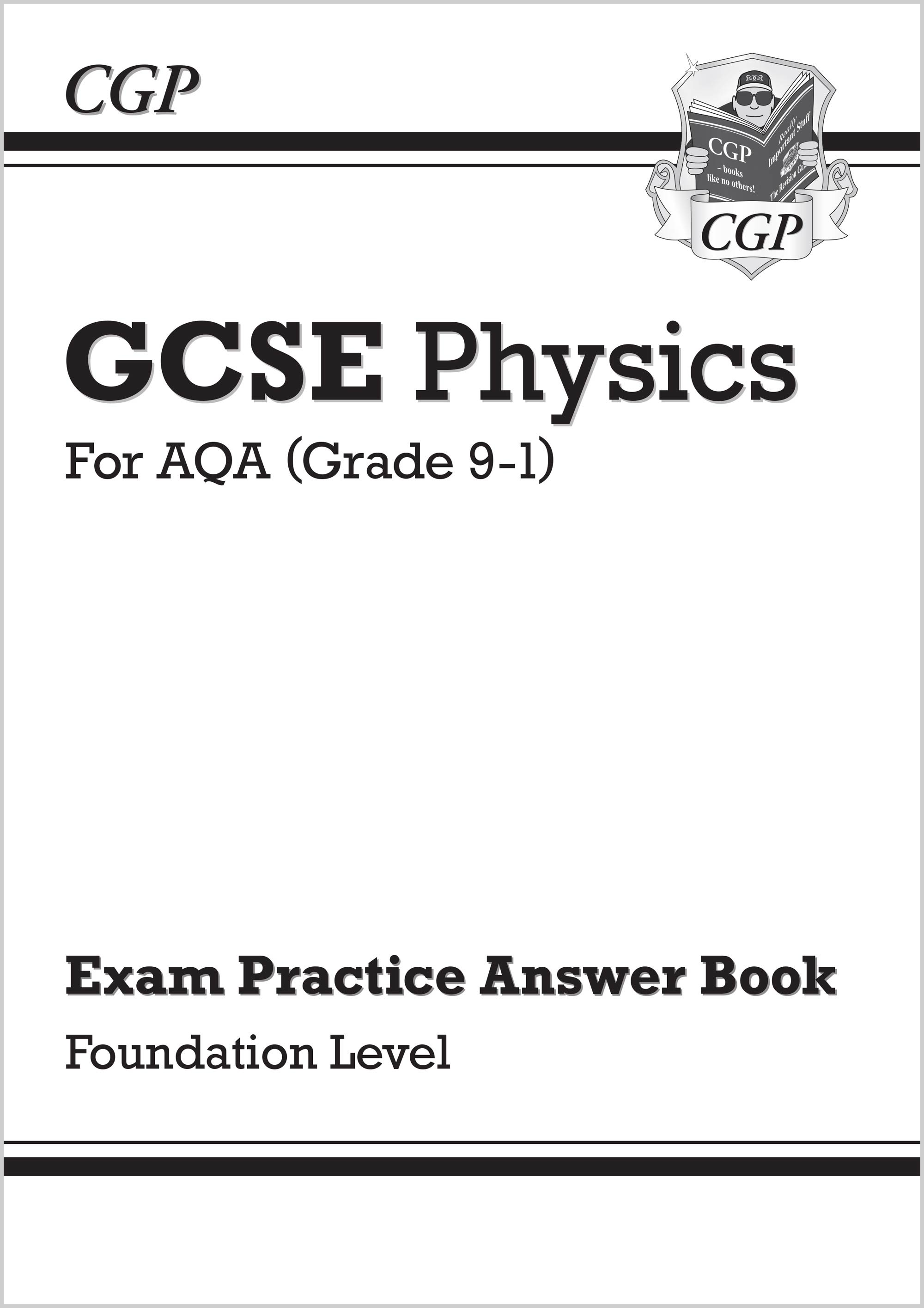 PAFQA41 - GCSE Physics: AQA Answers (for Exam Practice Workbook) - Foundation