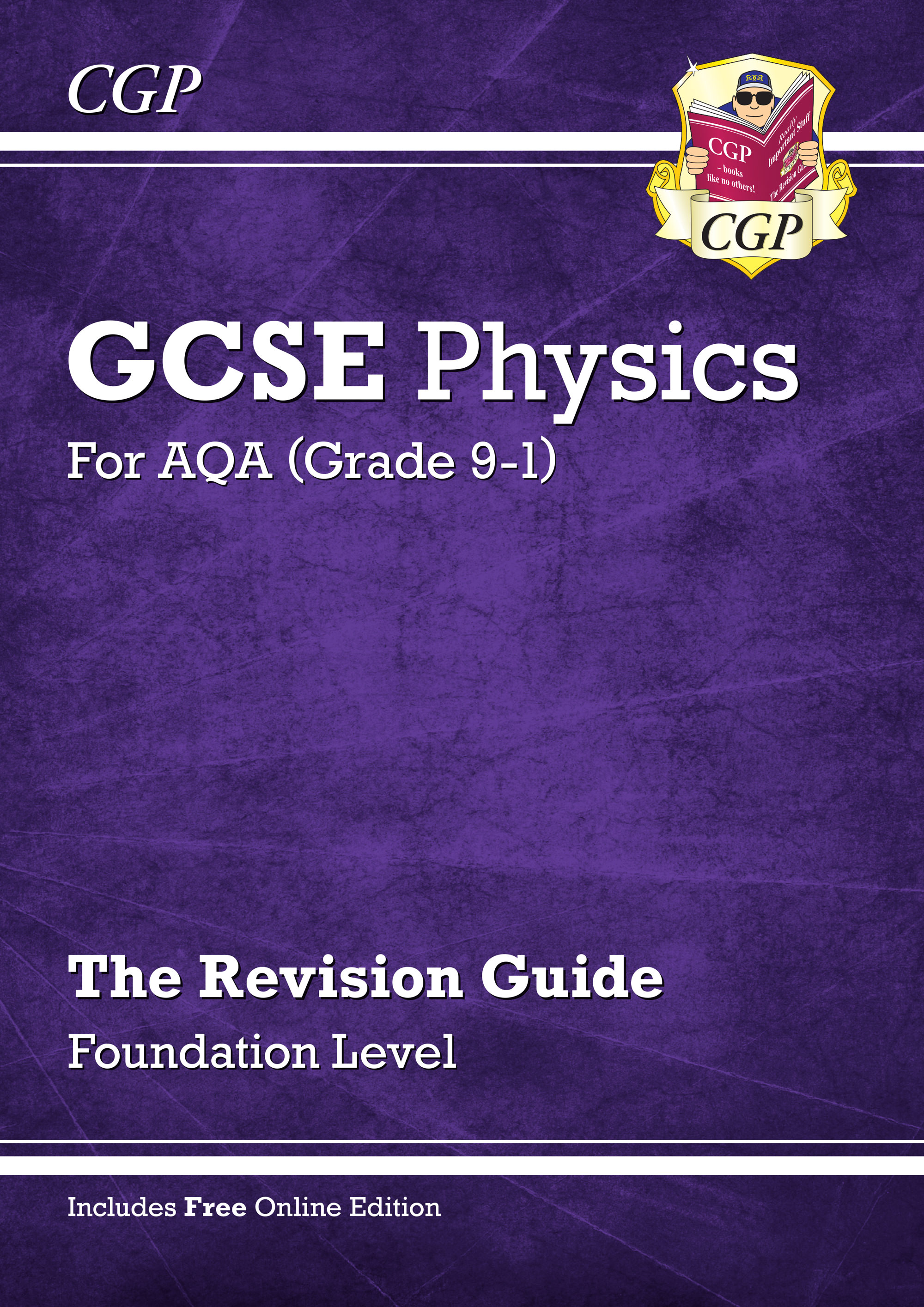 PAFR41 - Grade 9-1 GCSE Physics: AQA Revision Guide with Online Edition - Foundation