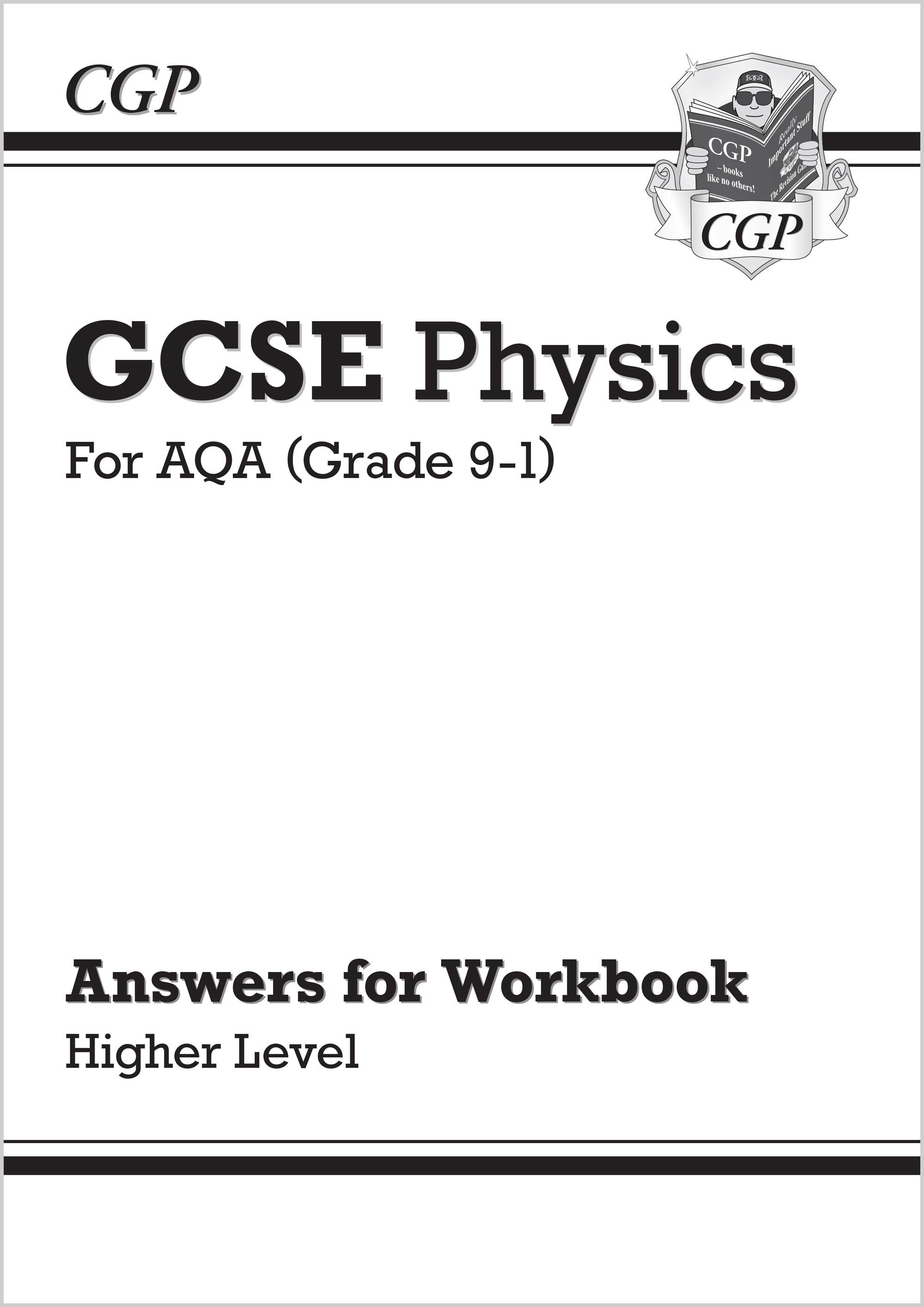 PAHA41 - Grade 9-1 GCSE Physics: AQA Answers (for Workbook) - Higher