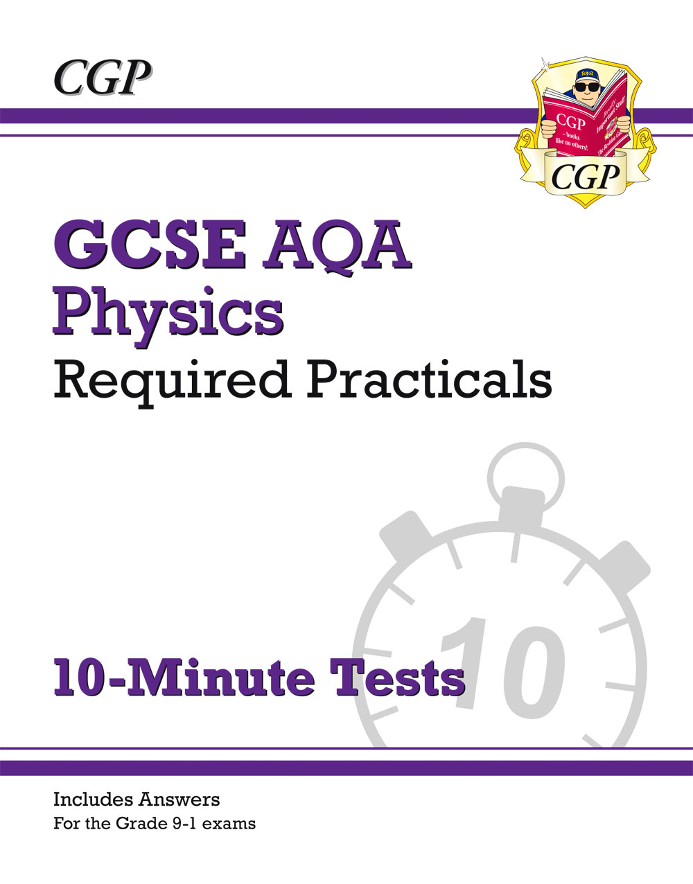 PAPRXP41 - New Grade 9-1 GCSE Physics: AQA Required Practicals 10-Minute Tests (includes Answers)