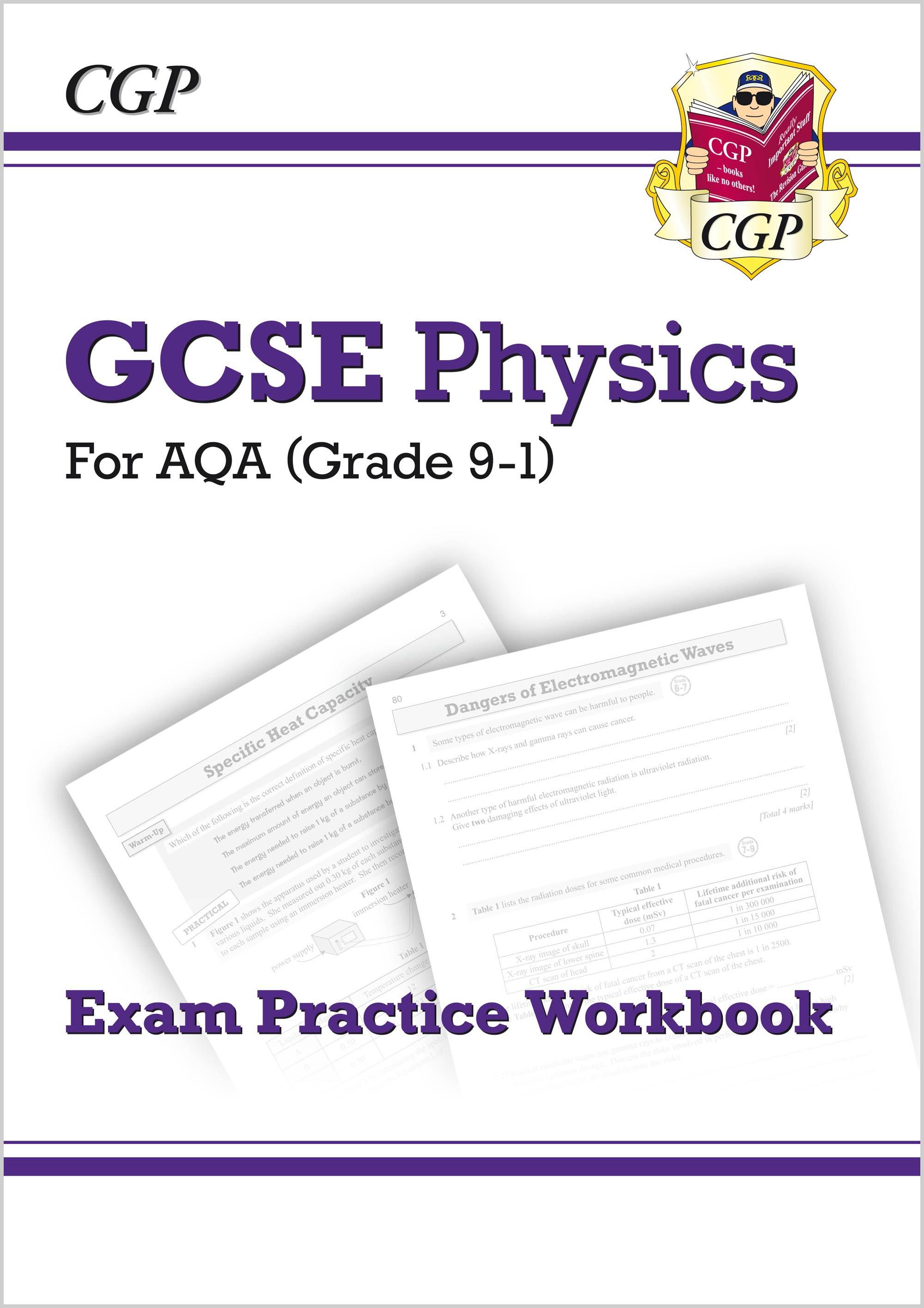 PAQ41 - Grade 9-1 GCSE Physics: AQA Exam Practice Workbook - Higher