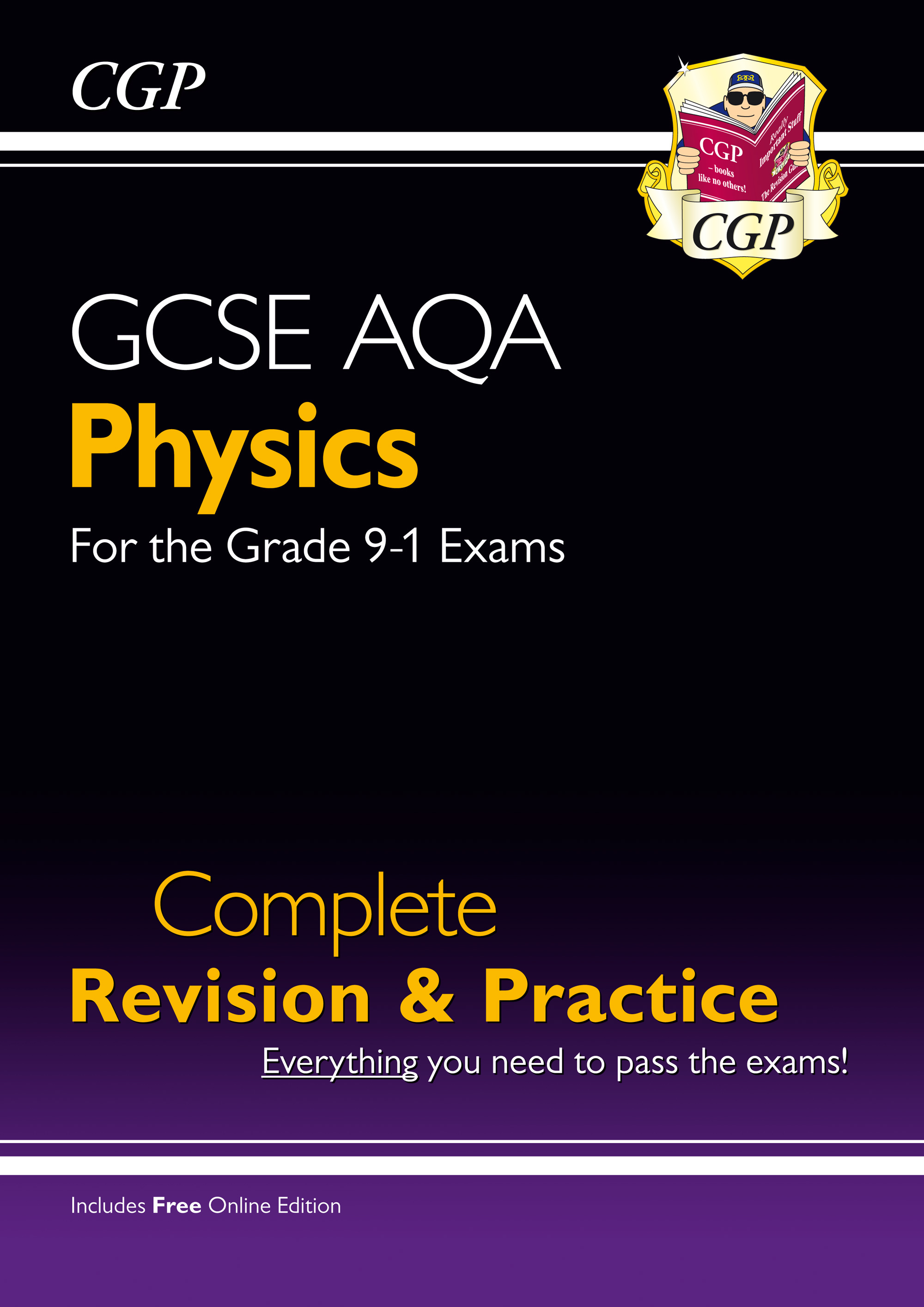 PAS47 - New Grade 9-1 GCSE Physics AQA Complete Revision & Practice with Online Edition