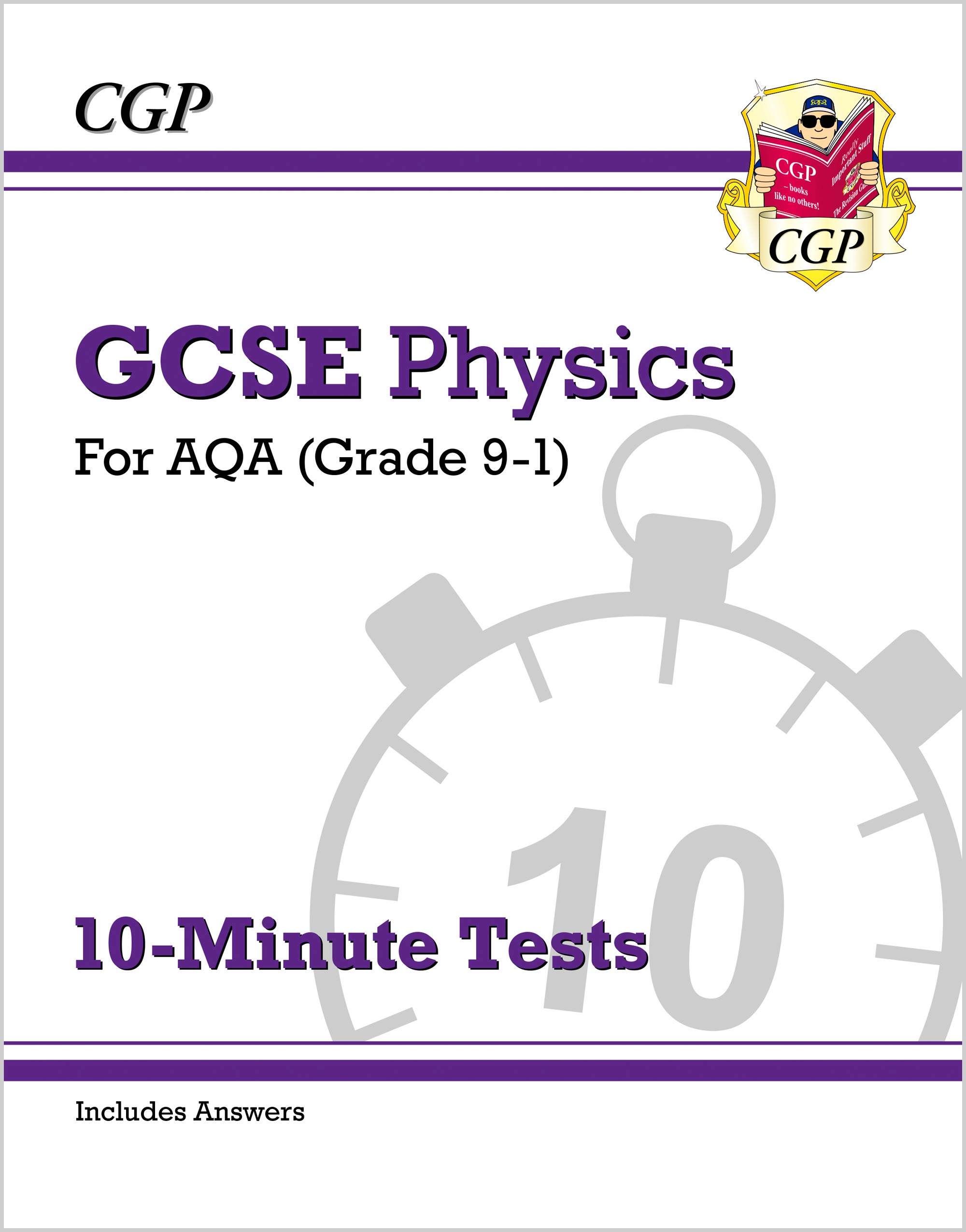 PAXP42DK - New Grade 9-1 GCSE Physics: AQA 10-Minute Tests (with answers)