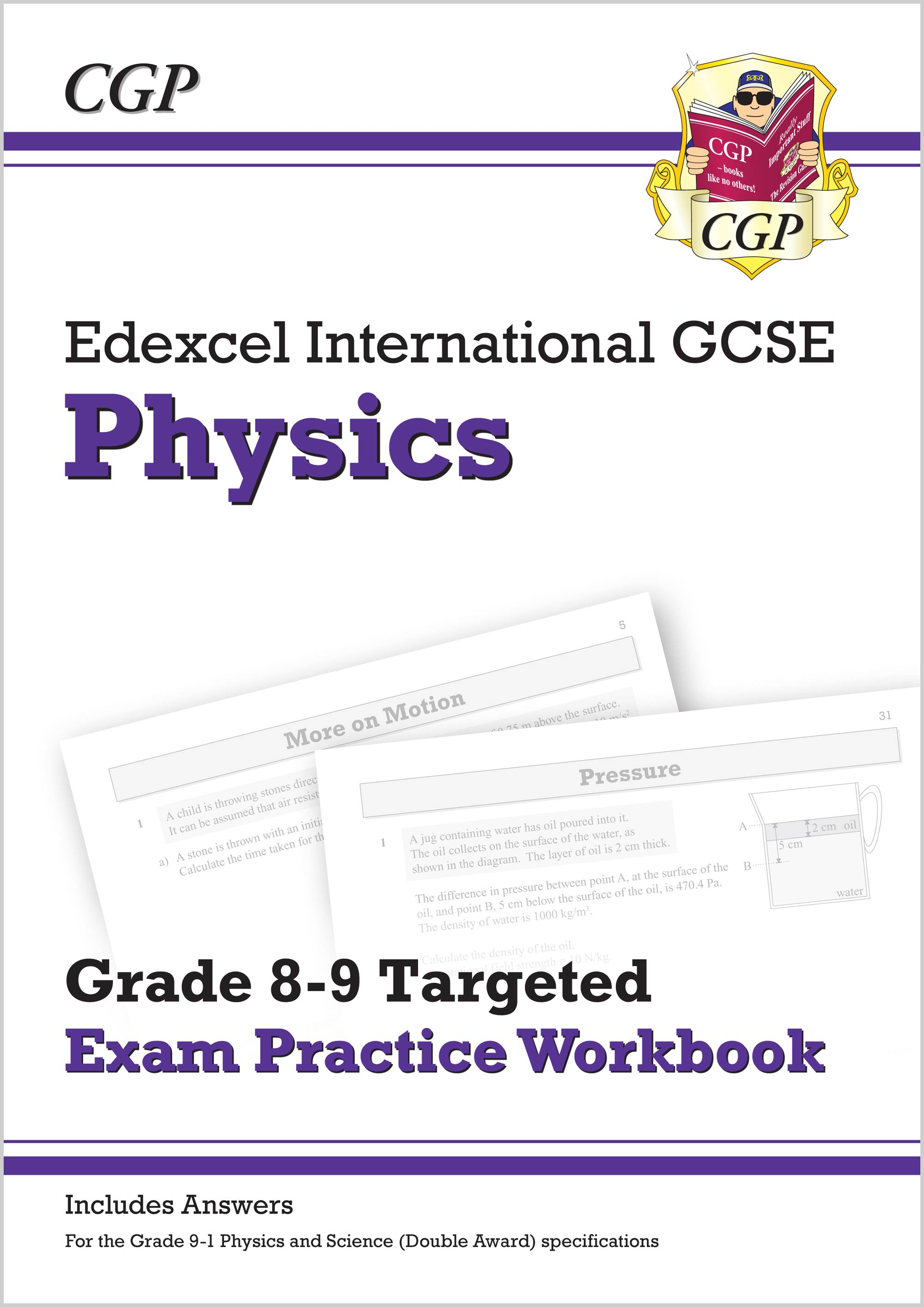 PE9QI41 - Edexcel International GCSE Physics: Grade 8-9 Targeted Exam Practice Workbook (with answer
