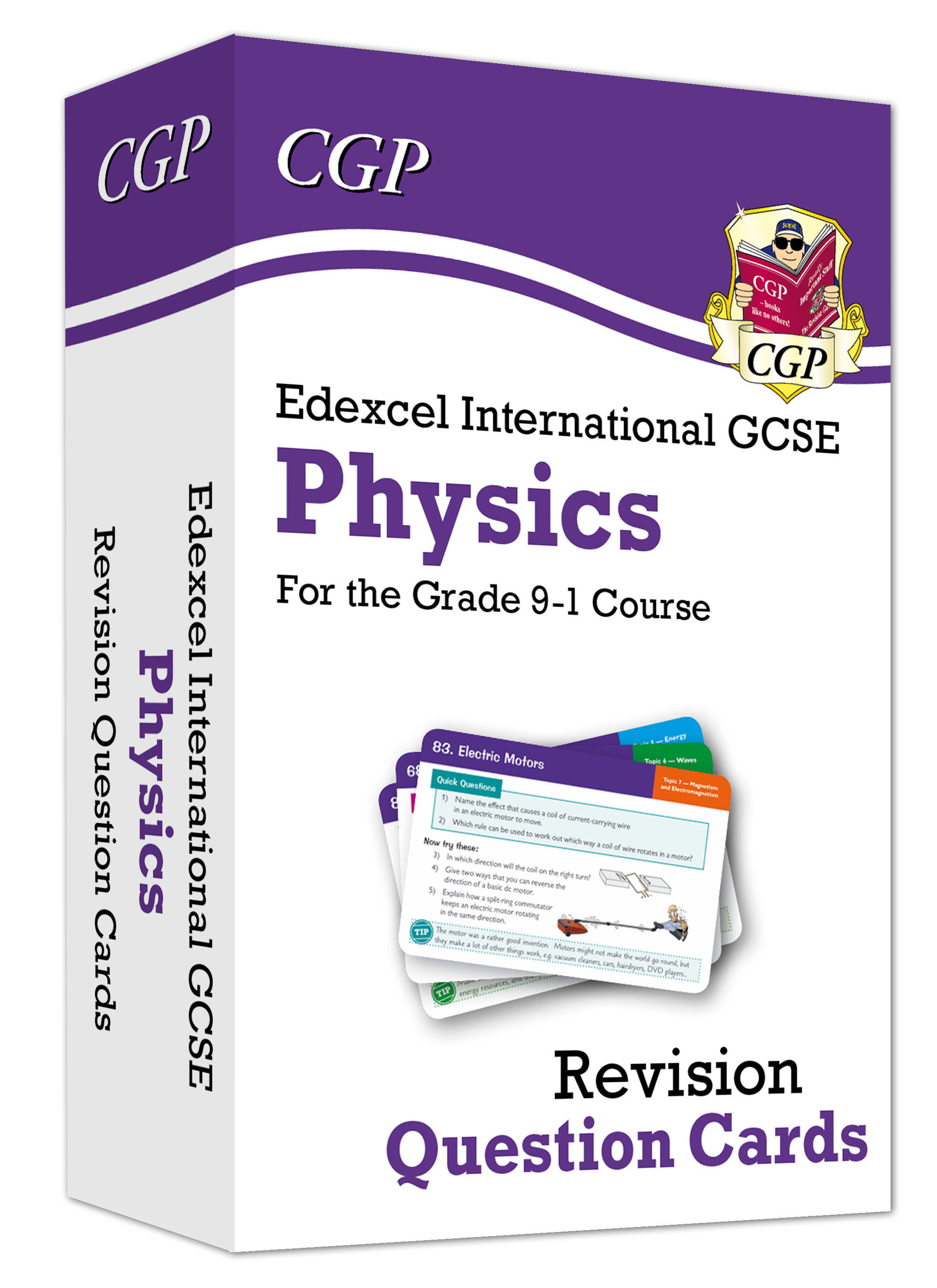 PEFI41D - New Grade 9-1 Edexcel International GCSE Physics: Revision Question Cards Online Edition