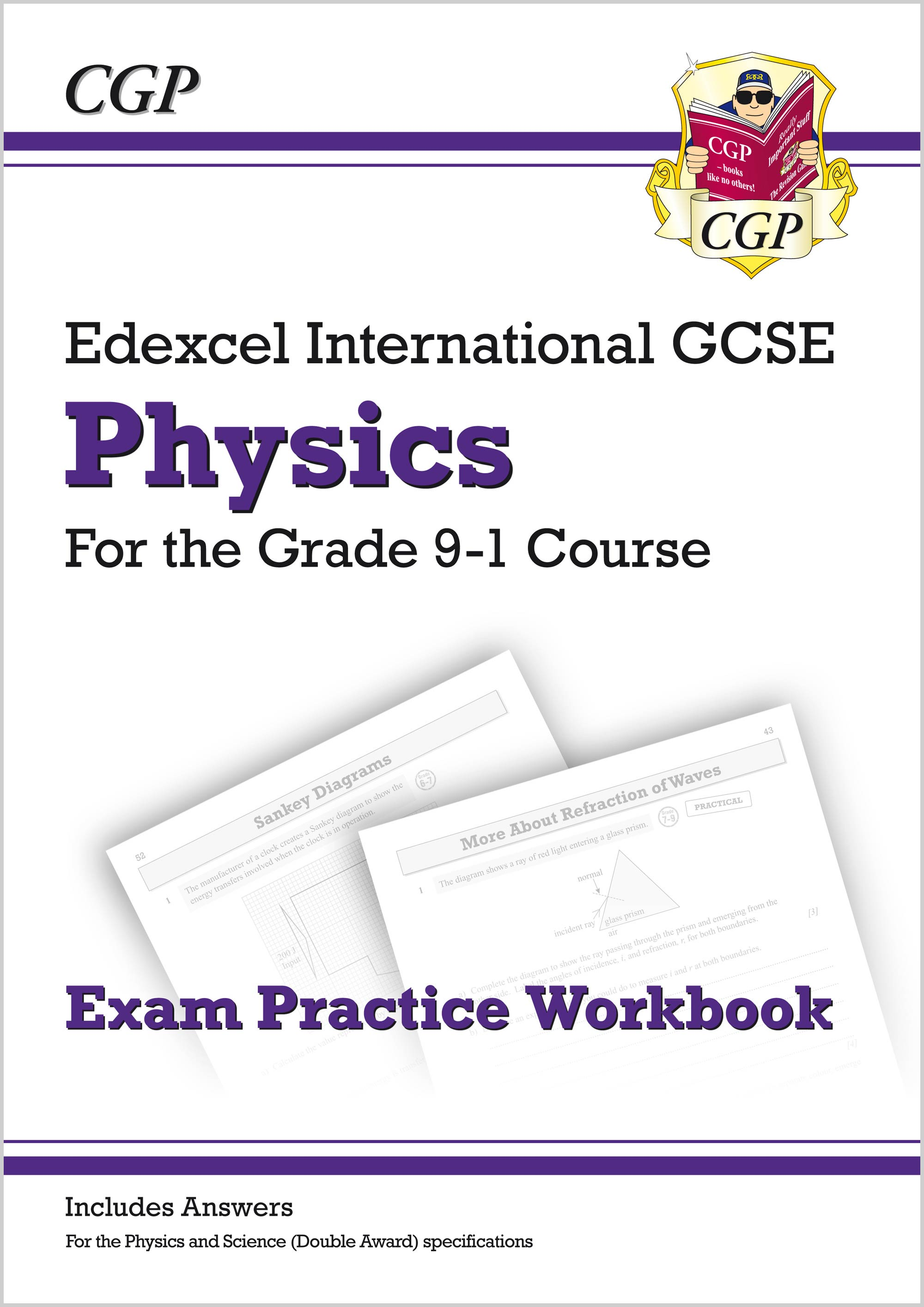 PEQI42 - New Grade 9-1 Edexcel International GCSE Physics: Exam Practice Workbook (includes Answers)