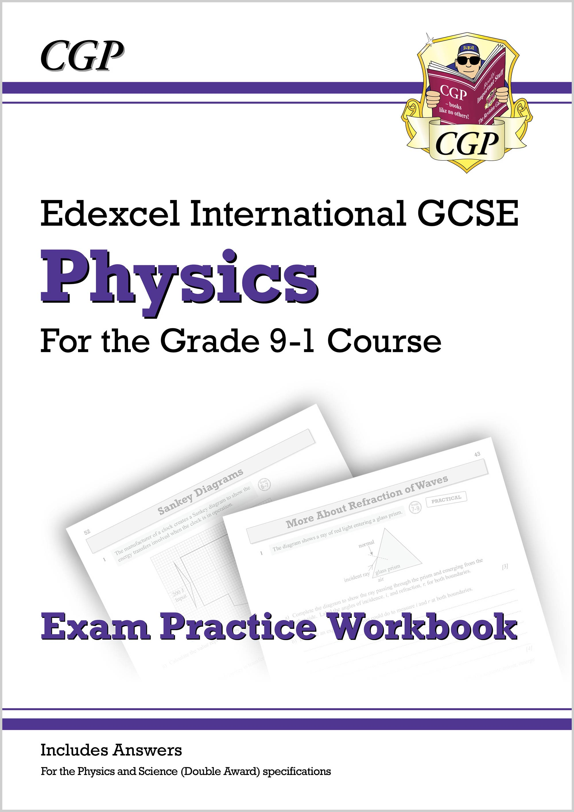 PEQI42DK - New Grade 9-1 Edexcel International GCSE Physics: Exam Practice Workbook (includes Answer