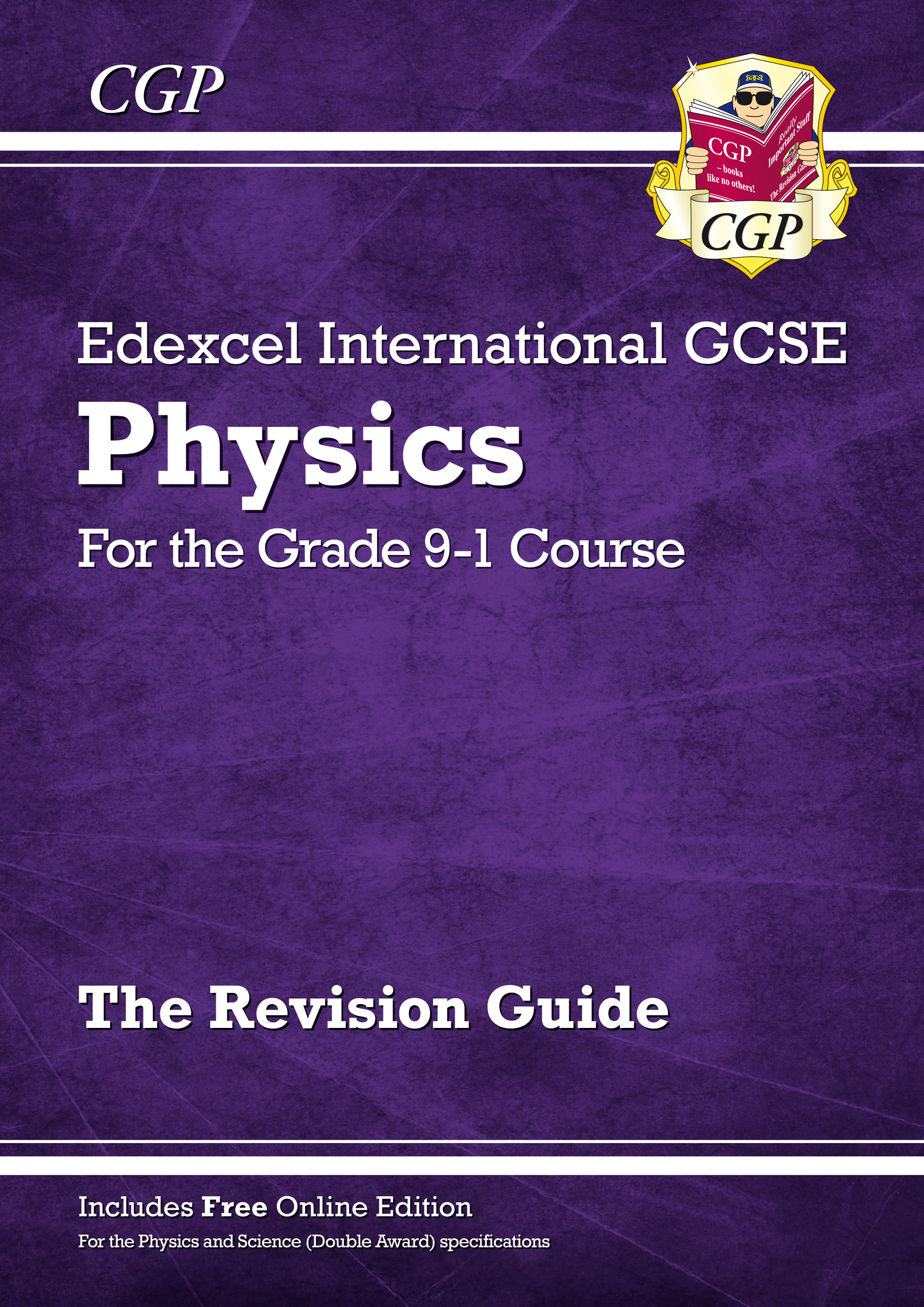 PERI42 - New Grade 9-1 Edexcel International GCSE Physics: Revision Guide with Online Edition