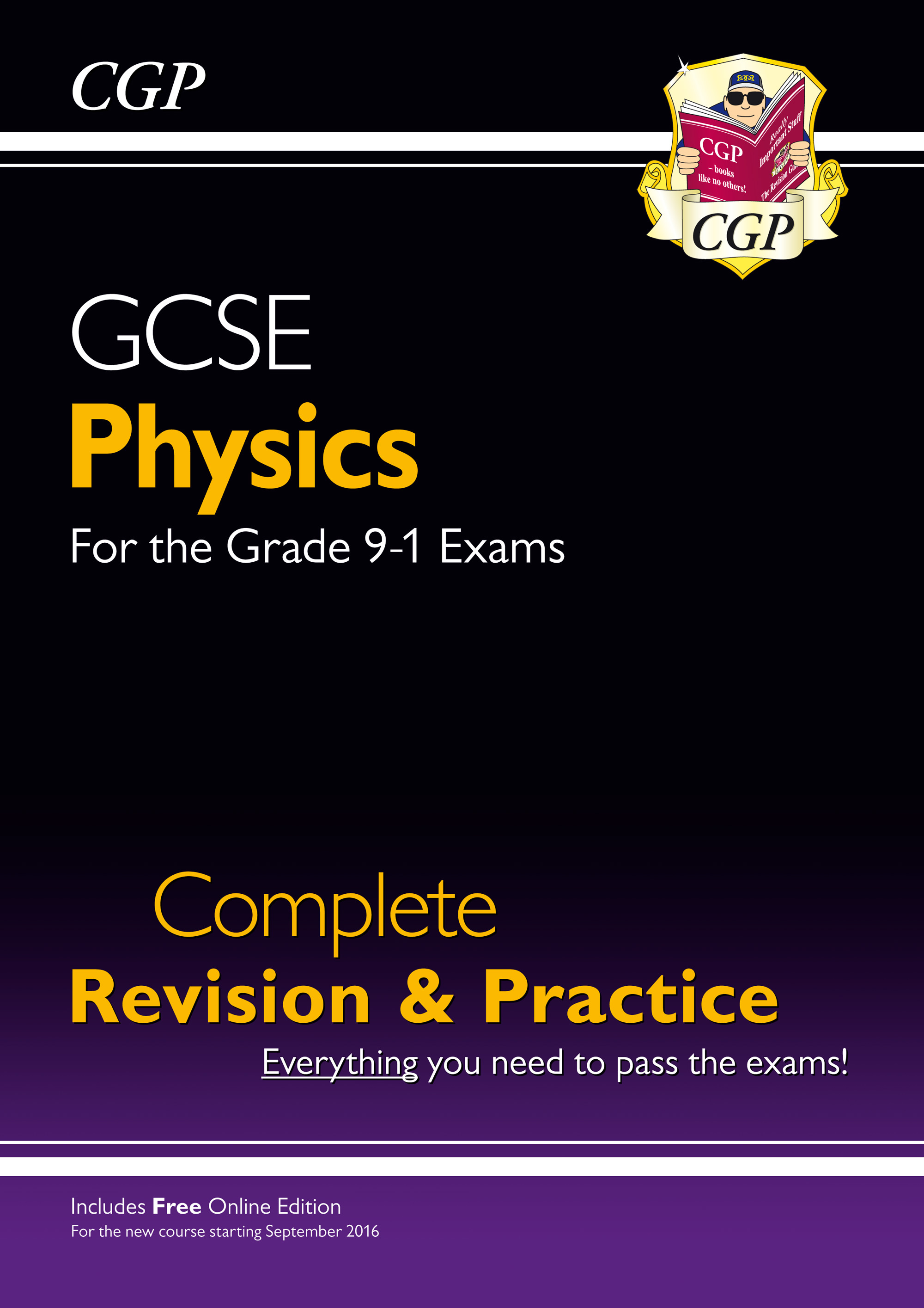 PHS45 - New Grade 9-1 GCSE Physics Complete Revision & Practice with Online Edition