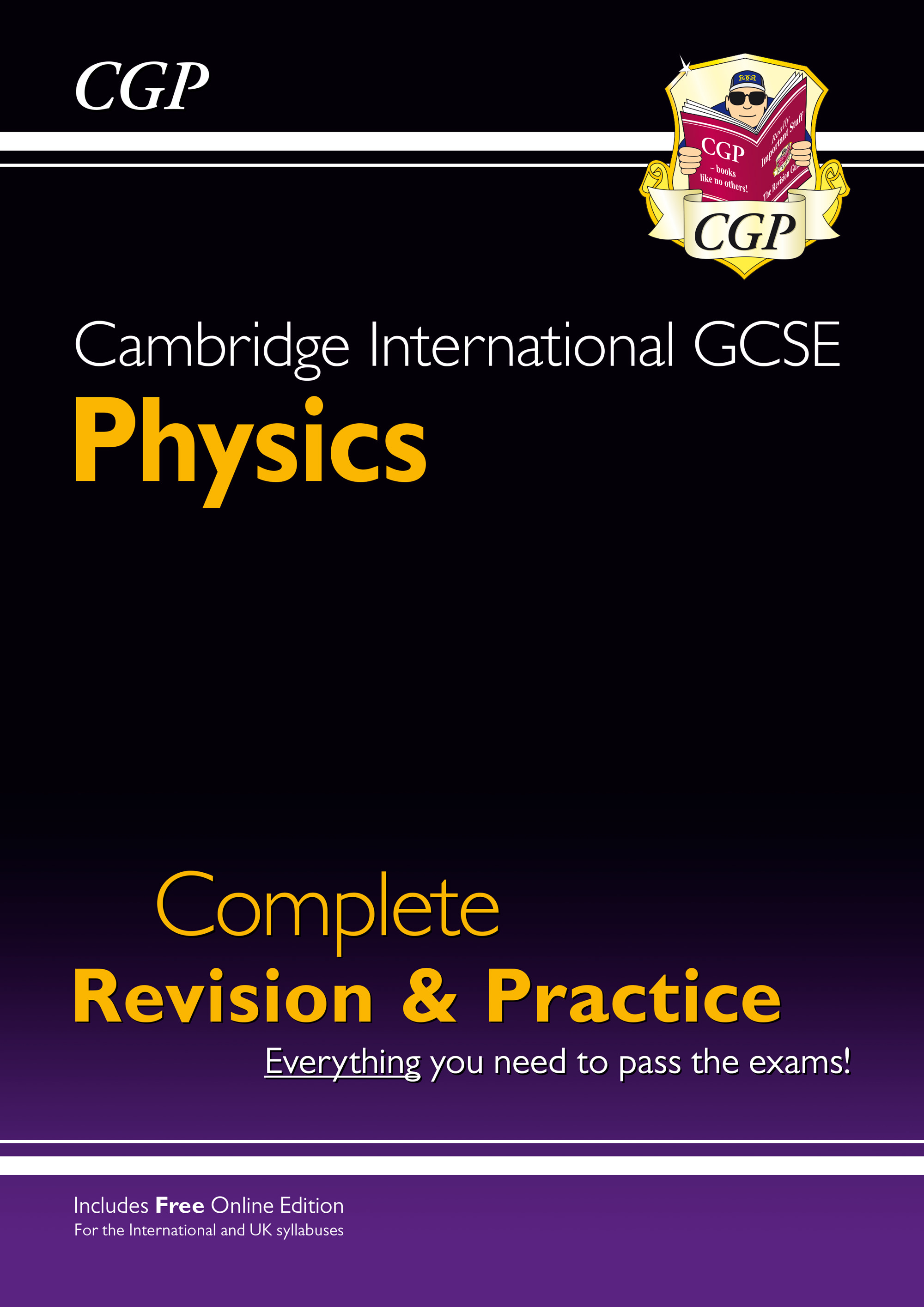 PISI41 - New Cambridge International GCSE Physics Complete Revision & Practice: Core & Extended + On