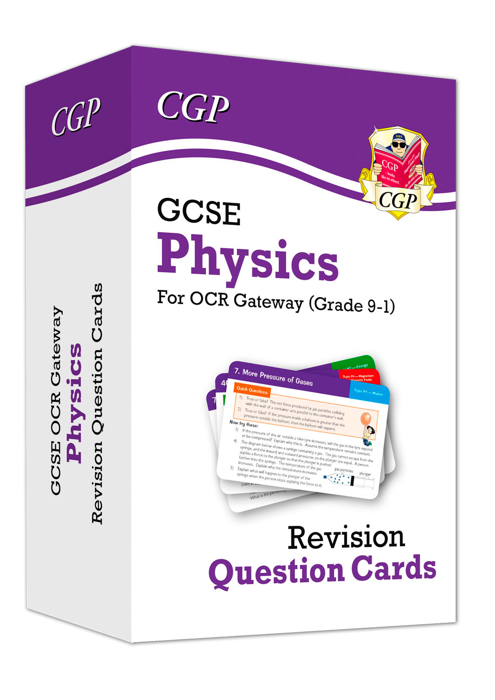 PRF41 - New 9-1 GCSE Physics OCR Gateway Revision Question Cards