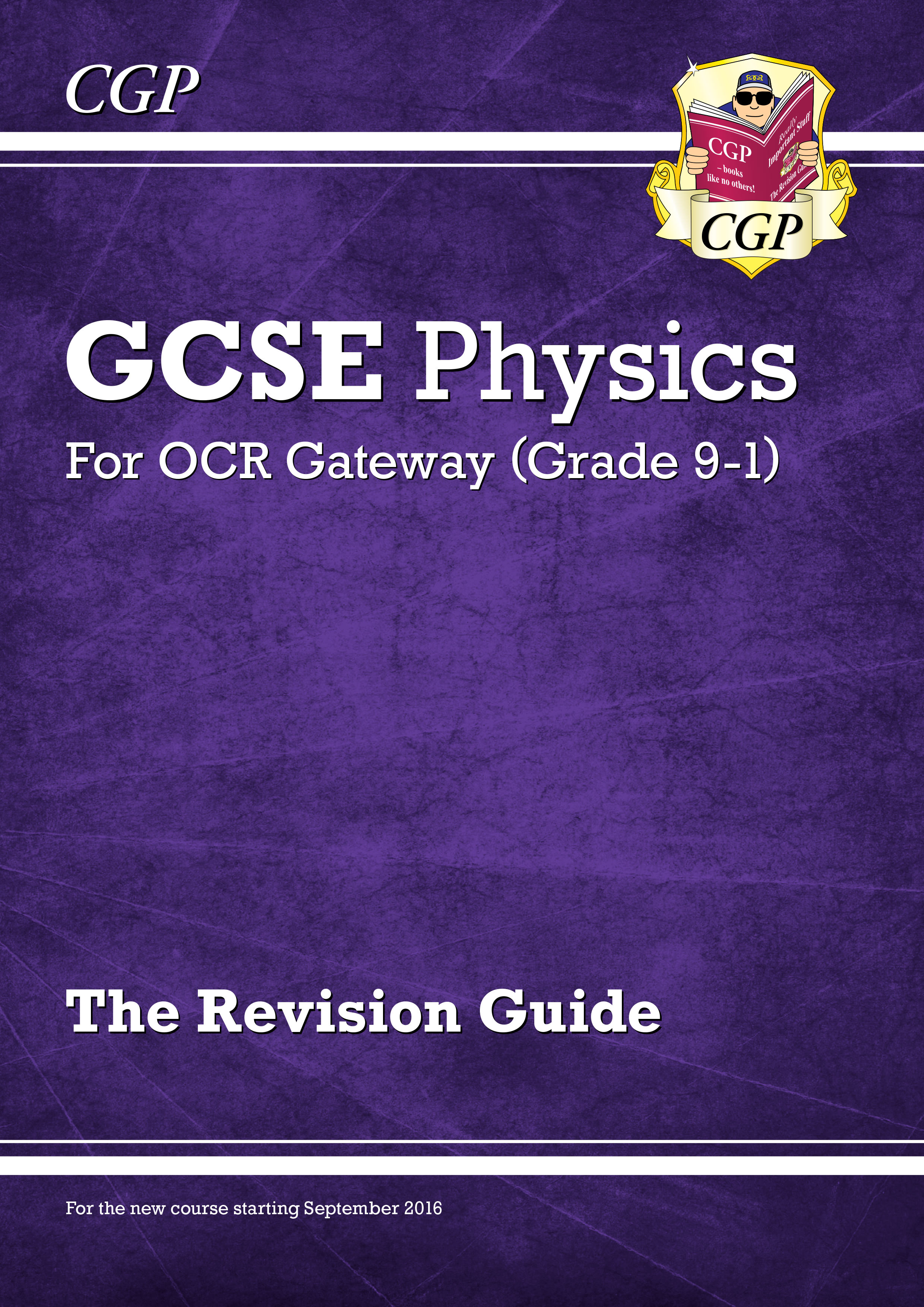 PRR45DK - New Grade 9-1 GCSE Physics: OCR Gateway Revision Guide