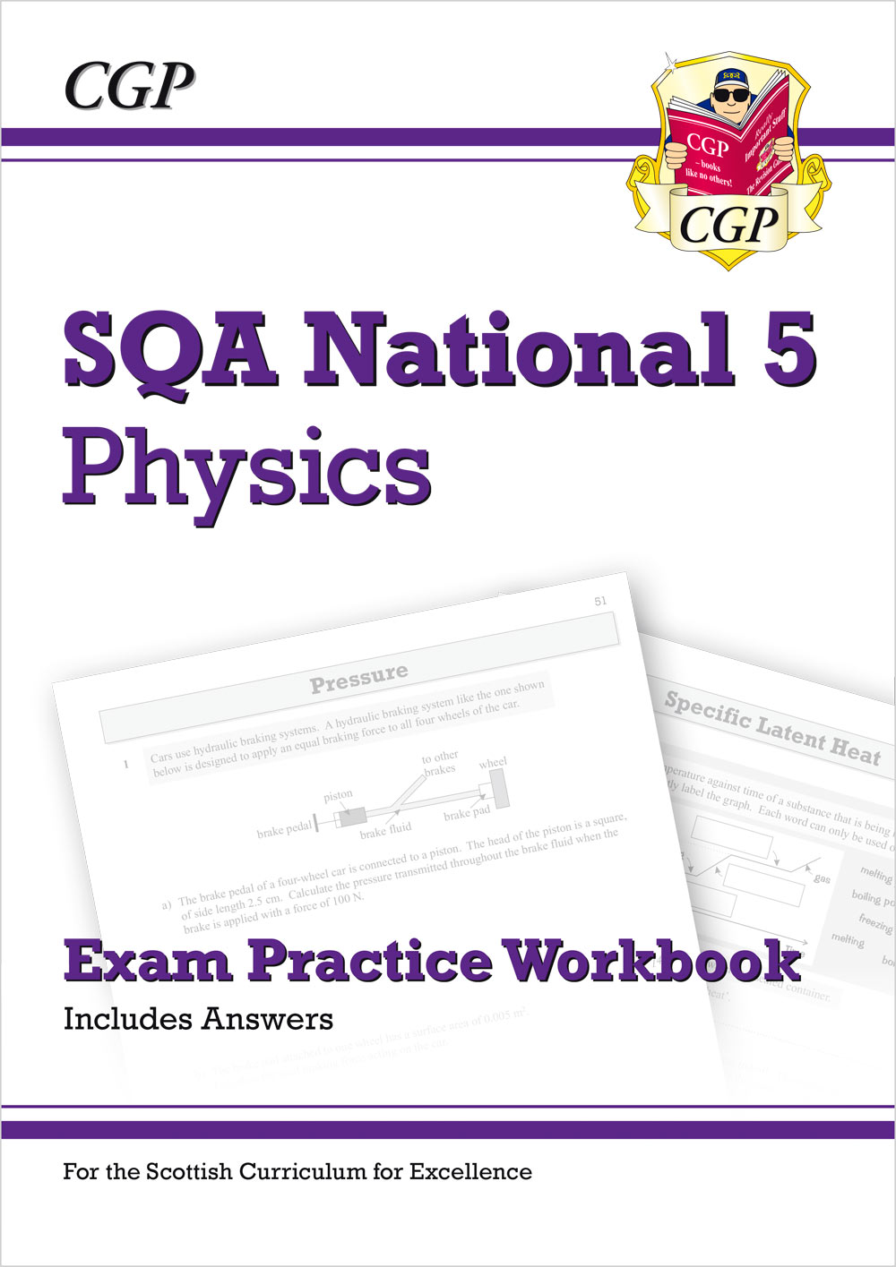 PZQ41 - National 5 Physics: SQA Exam Practice Workbook - includes Answers