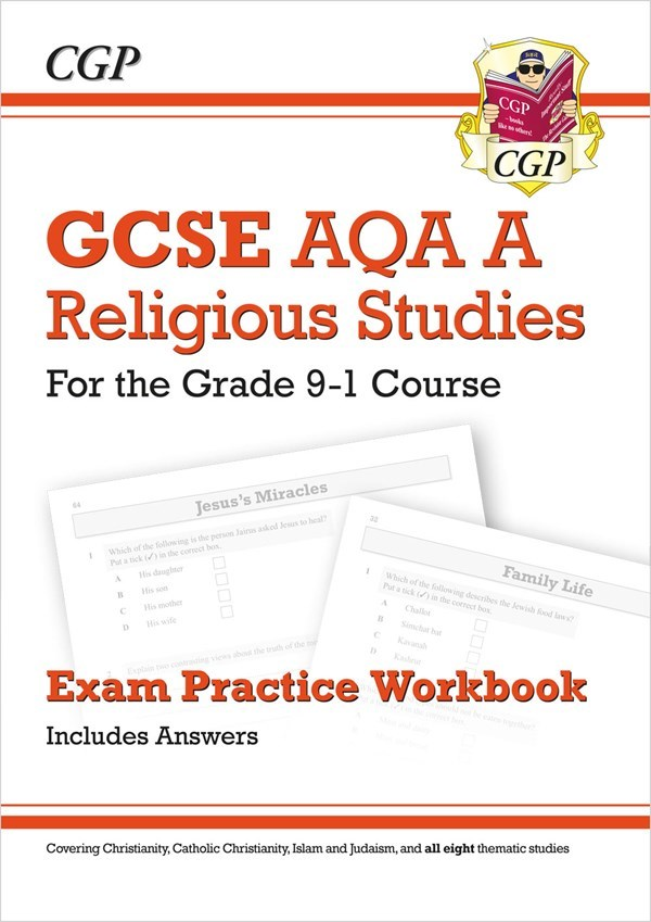RAQ41 - Grade 9-1 GCSE Religious Studies: AQA A Exam Practice Workbook  (includes Answers)