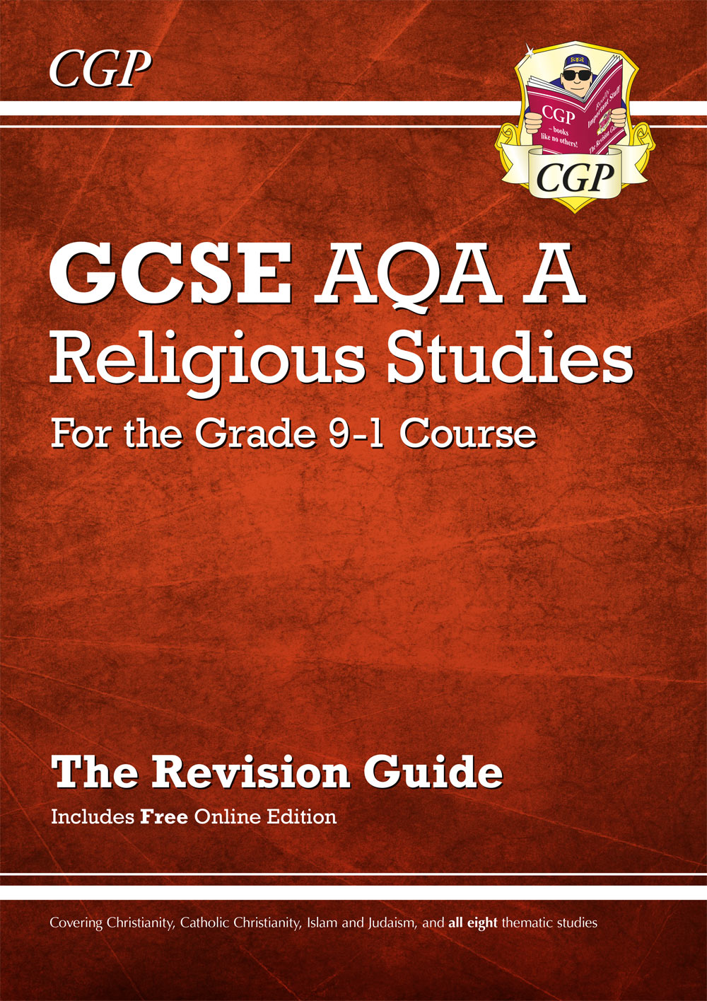 RAR41 - New Grade 9-1 GCSE Religious Studies: AQA A Revision Guide with Online Edition