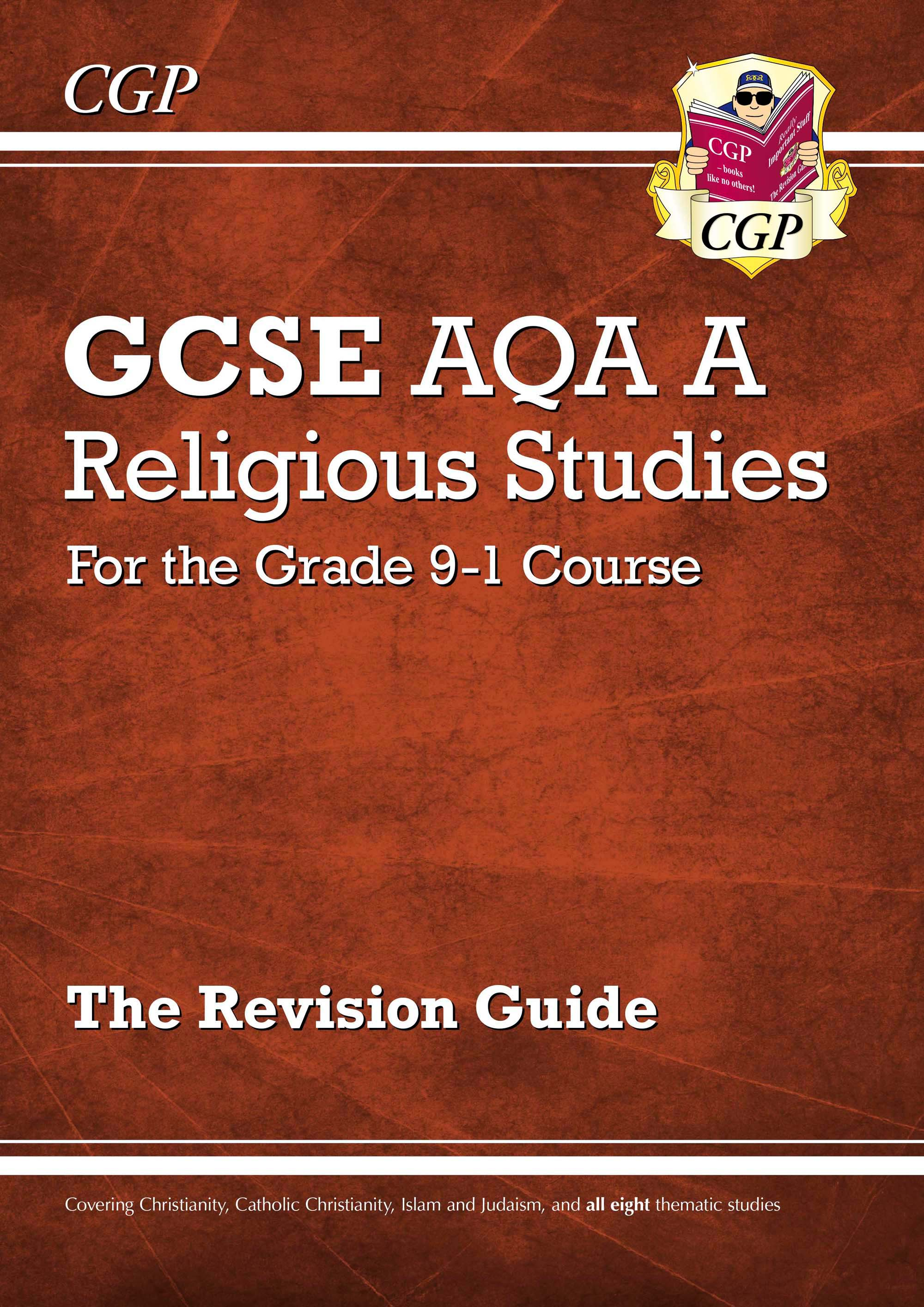 RAR41DK - Grade 9-1 GCSE Religious Studies: AQA A Revision Guide with Online Edition