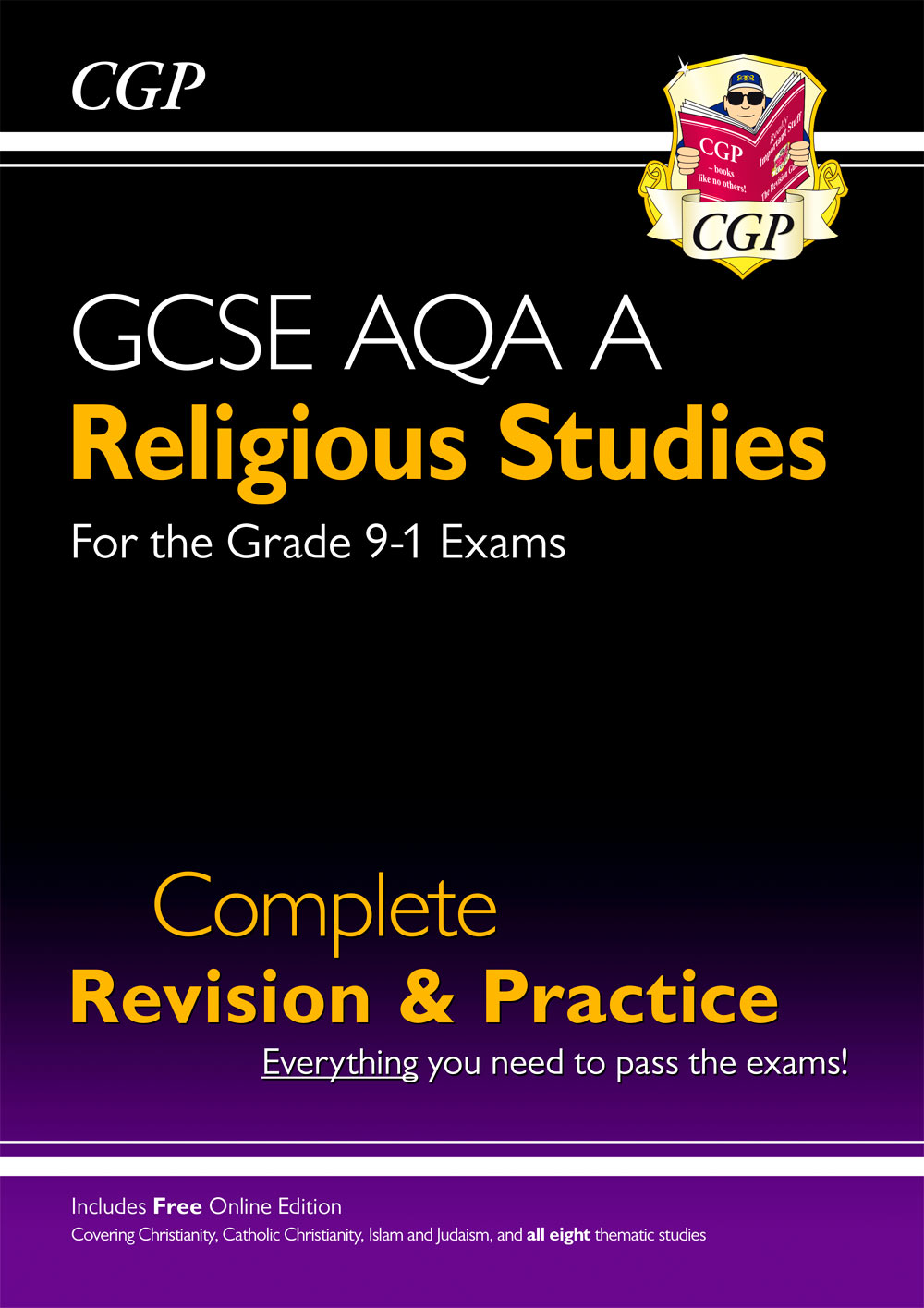 RAS41 - Grade 9-1 GCSE Religious Studies: AQA A Complete Revision & Practice with Online Edition