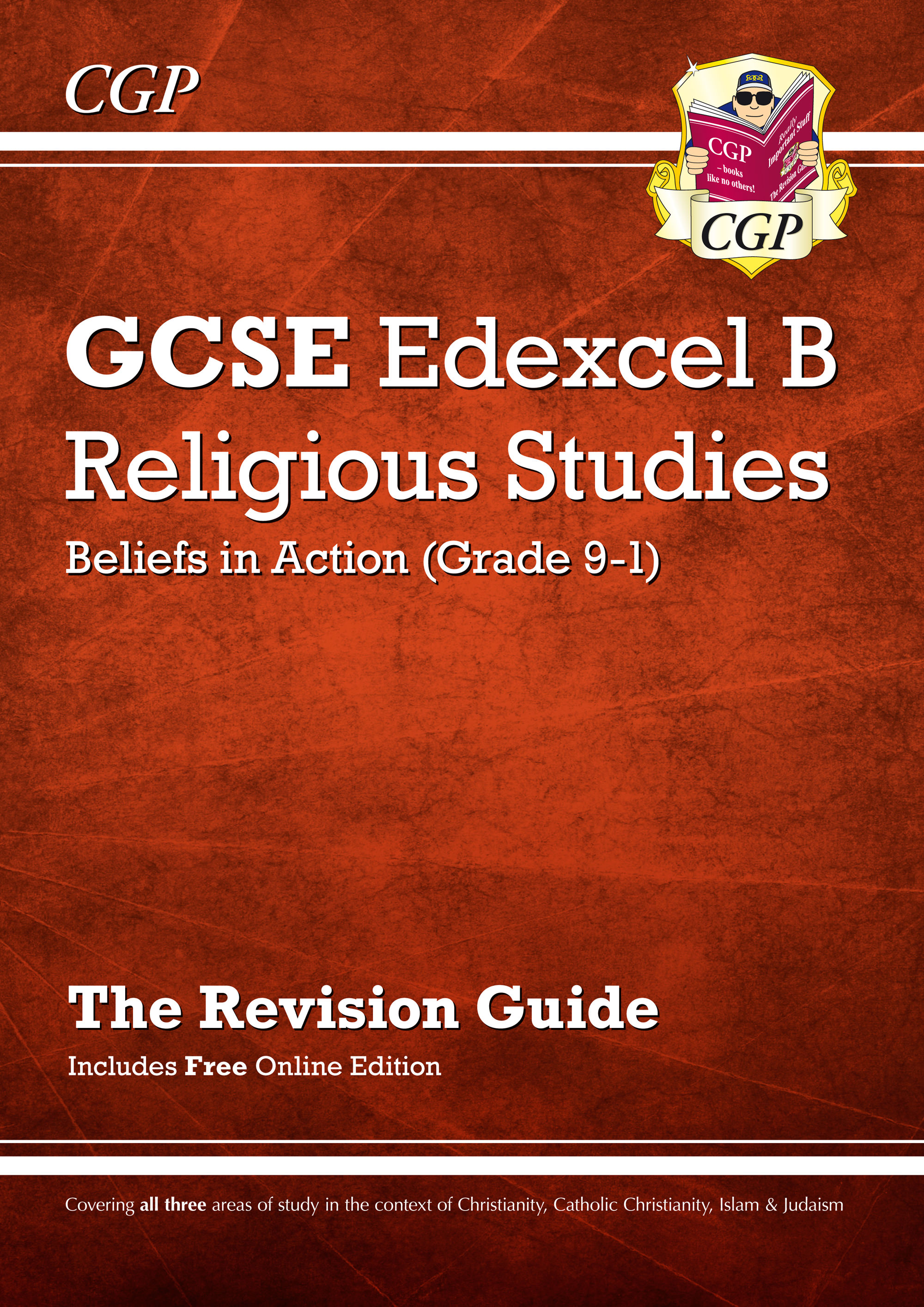 RER41 - Grade 9-1 GCSE Religious Studies: Edexcel B Beliefs in Action Revision Guide with Online Edi