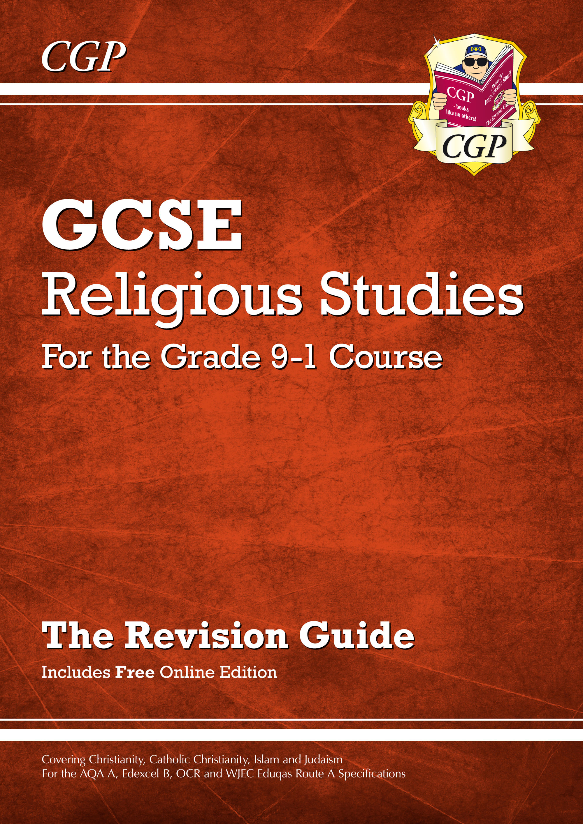 RHR45 - Grade 9-1 GCSE Religious Studies: Revision Guide with Online Edition