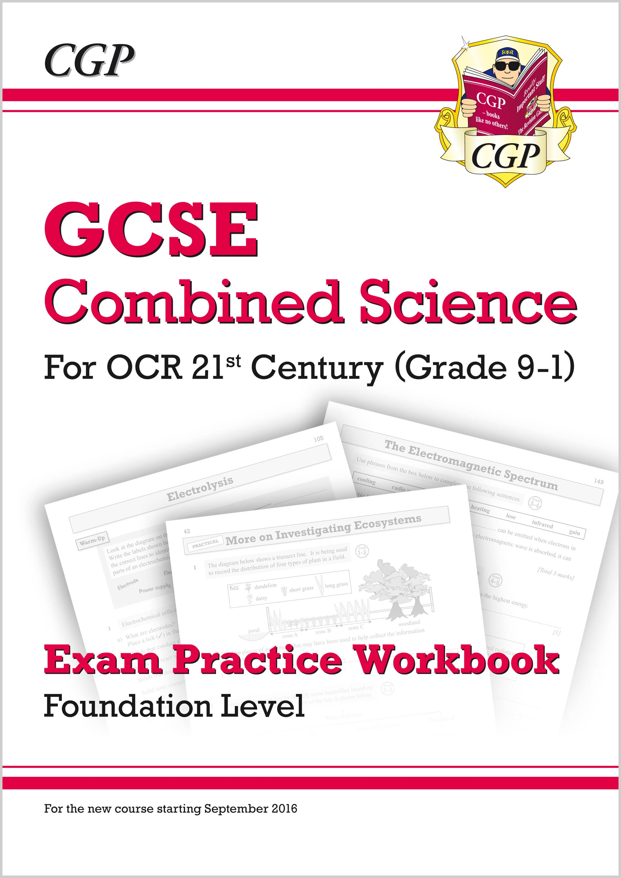 S2FQ41 - Grade 9-1 GCSE Combined Science: OCR 21st Century Exam Practice Workbook - Foundation
