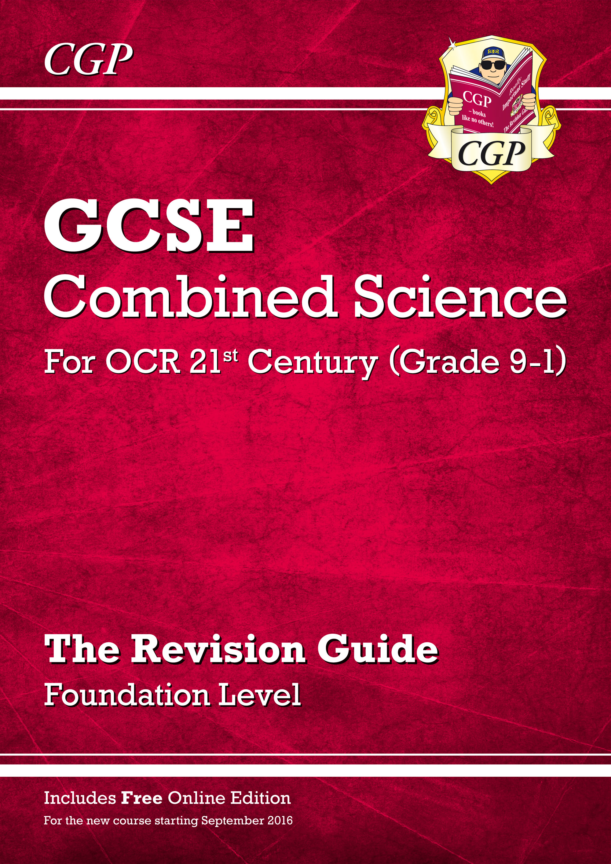 S2FR45 - Grade 9-1 GCSE Combined Science: OCR 21st Century Revision Guide with Online Edition Founda