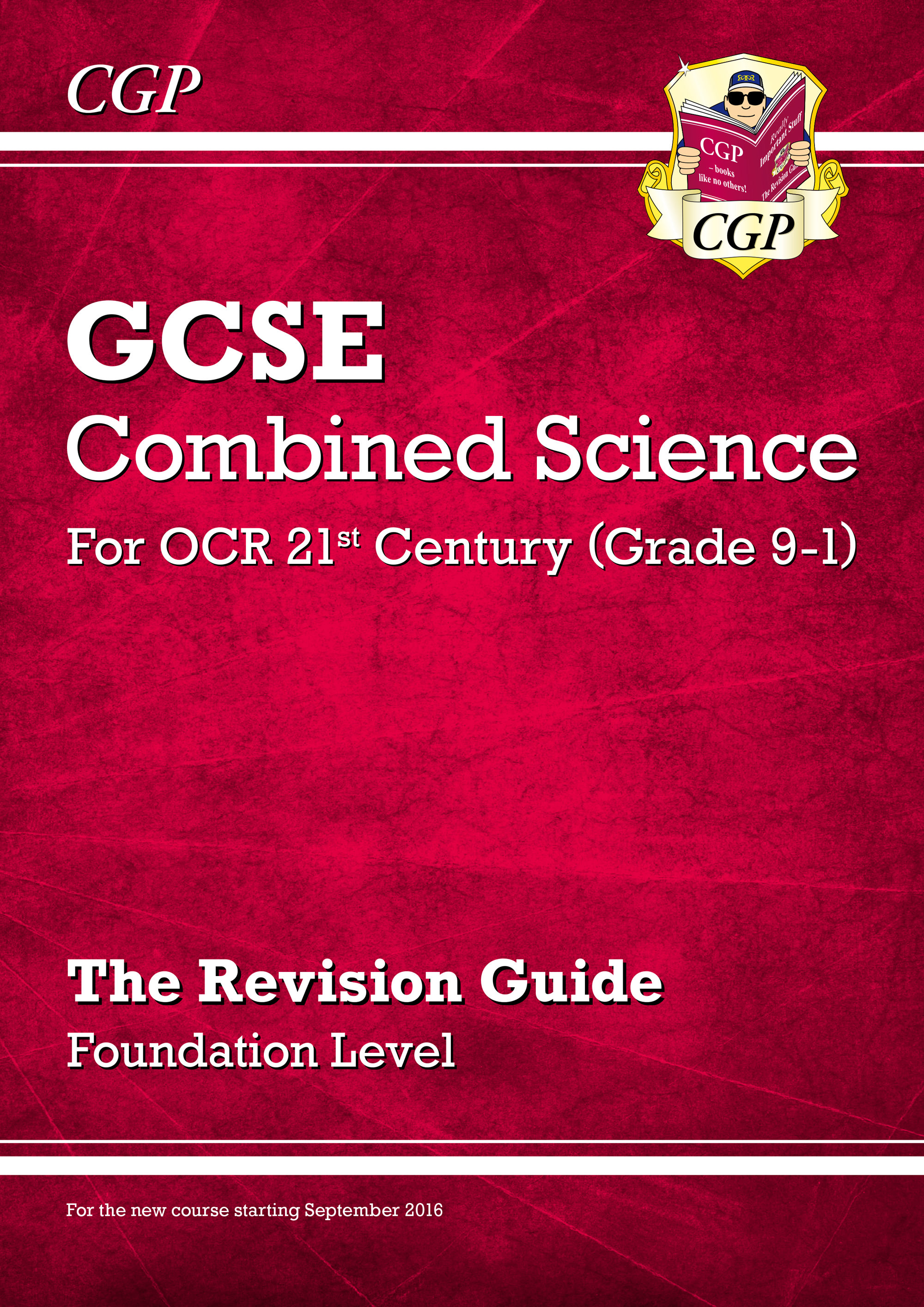 S2FR45DK - New Grade 9-1 GCSE Combined Science: OCR 21st Century Revision Guide - Foundation