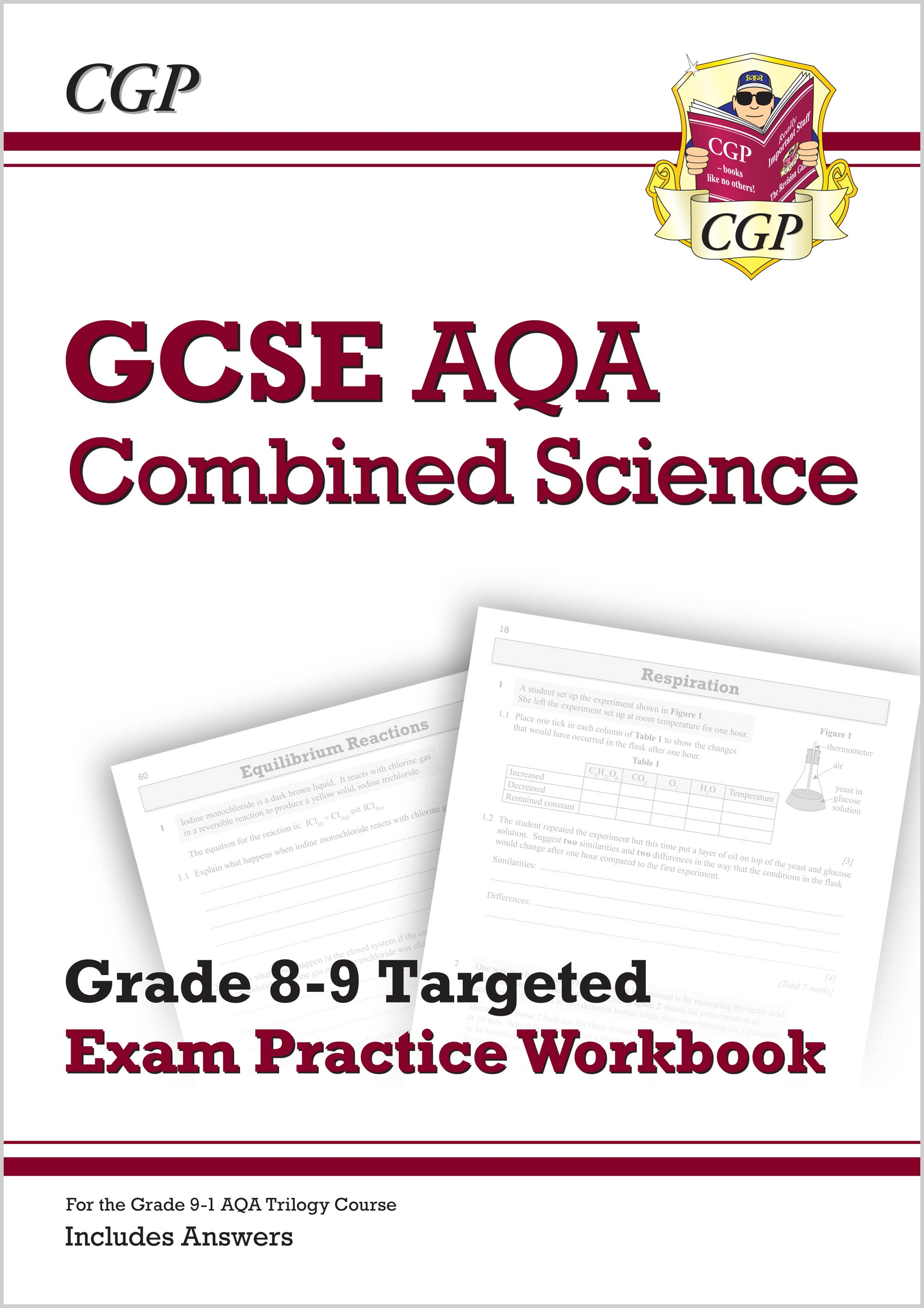 SA9Q41 - GCSE Combined Science AQA Grade 8-9 Targeted Exam Practice Workbook (includes Answers)