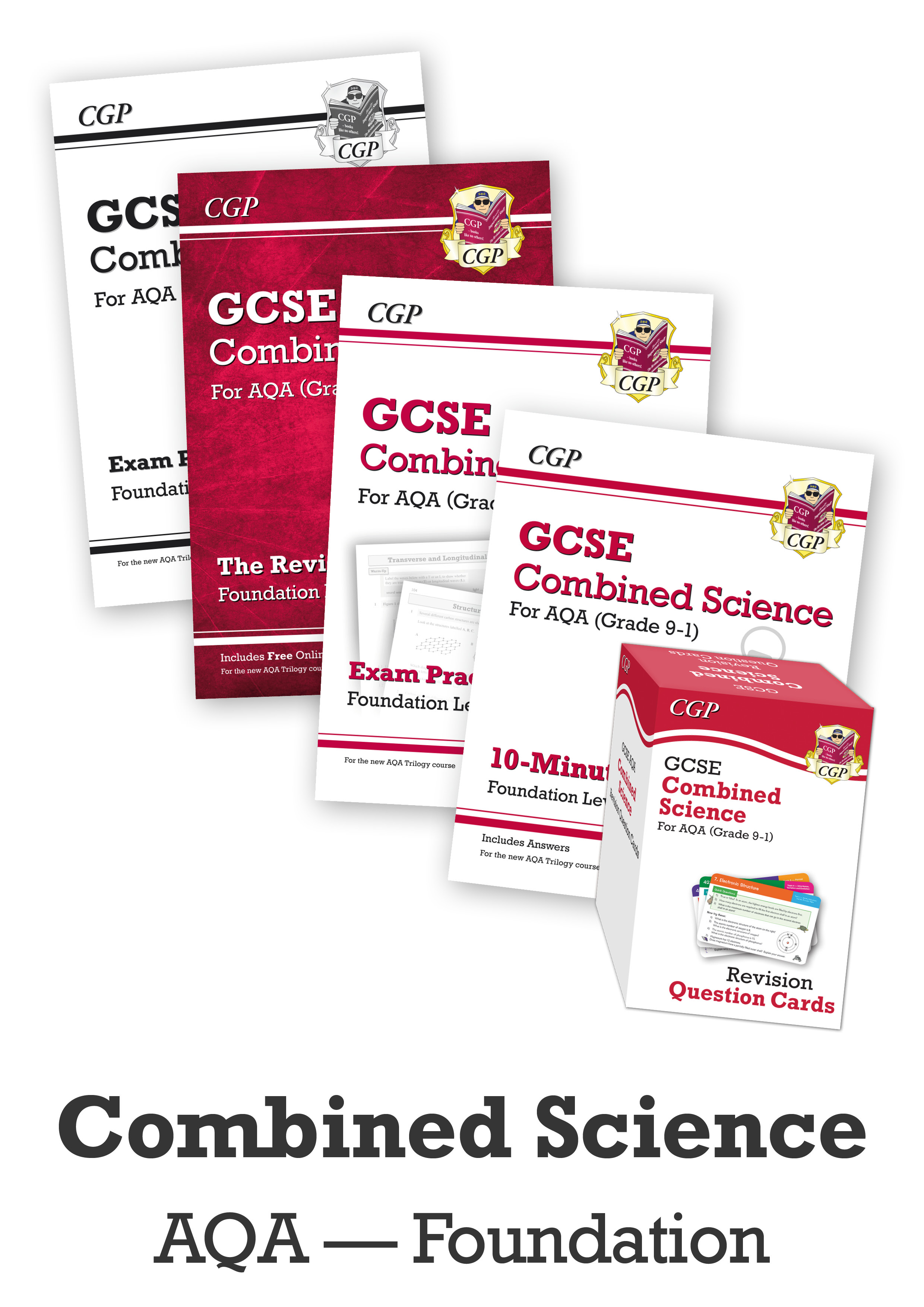 SAFCUB41 - GCSE Home Learning Essentials Bundle: AQA Combined Science Foundation